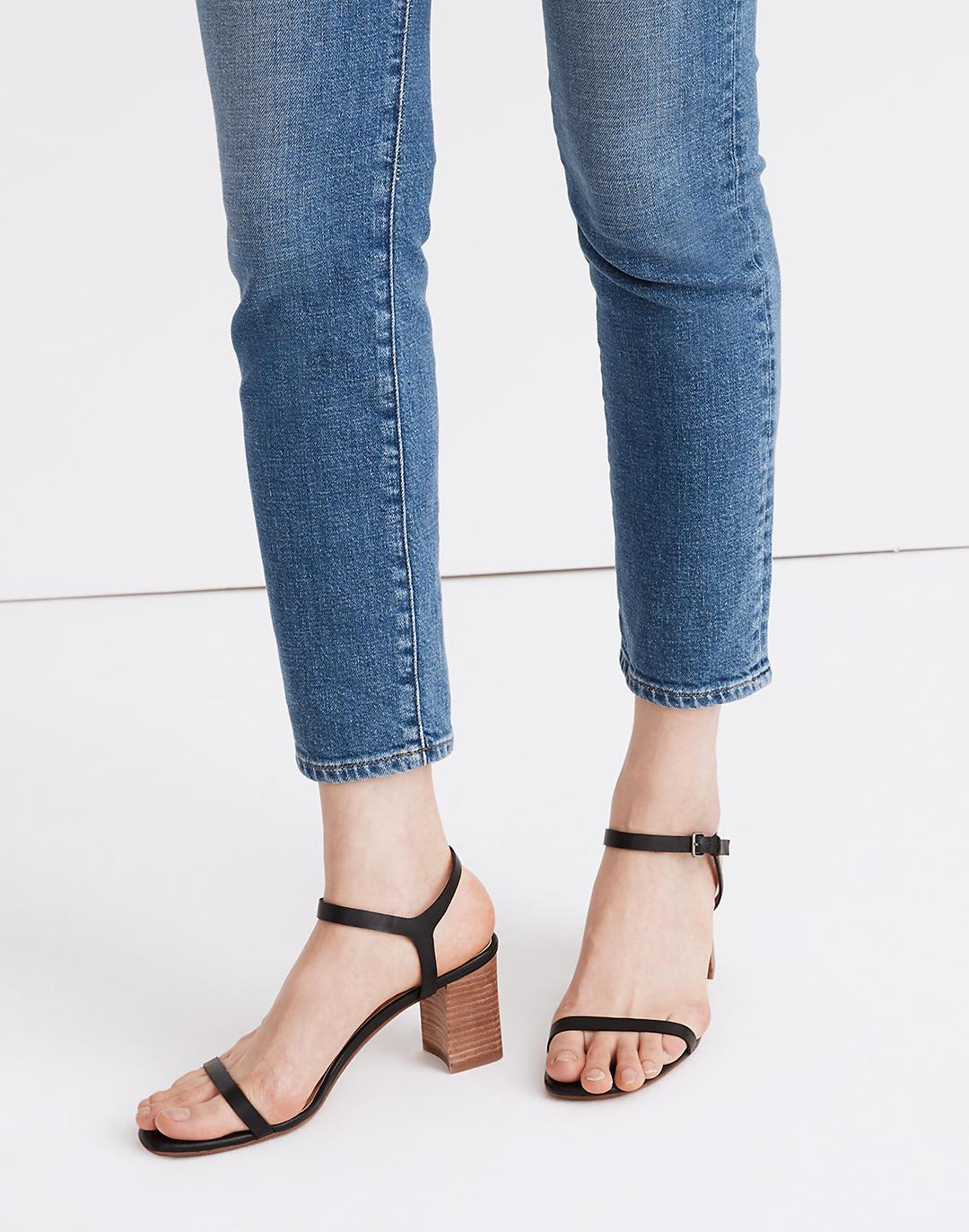 The Holly Ankle-Strap Sandal in Leather 3
