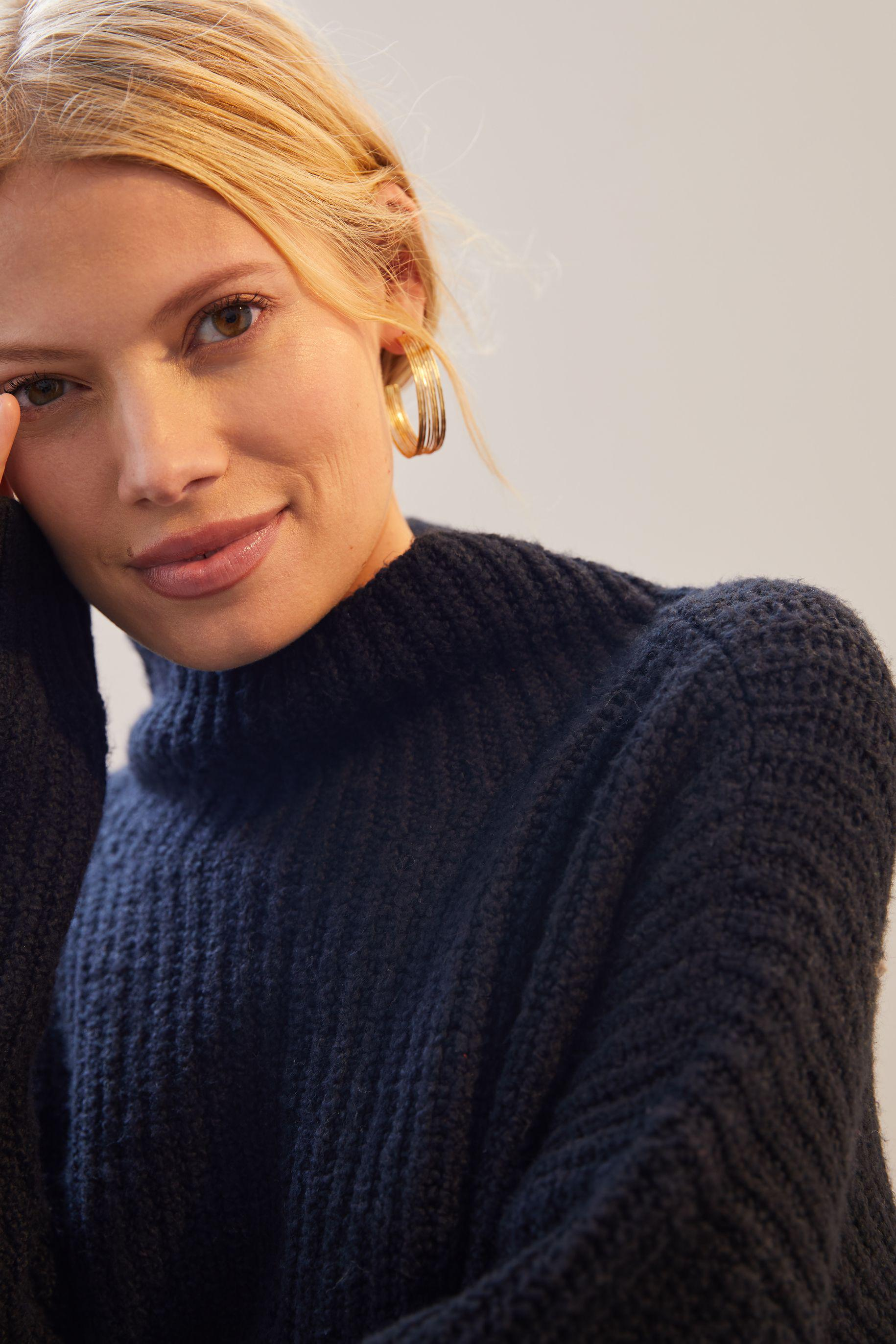 Funnel Neck Sweater 1