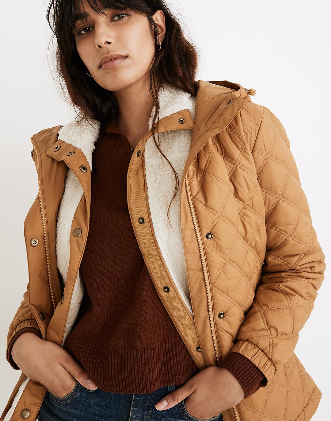 Addition Quilted Packable Puffer Jacket