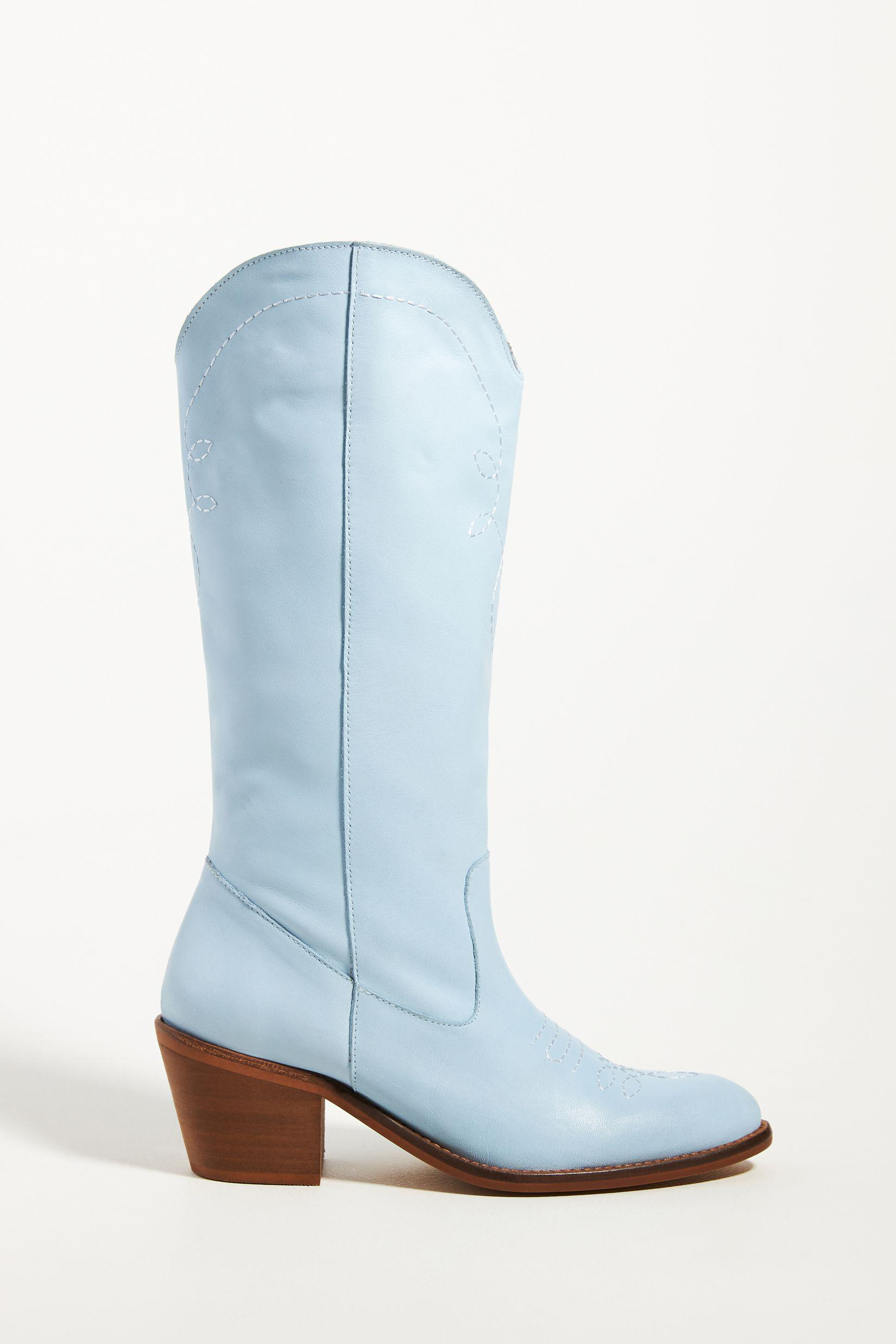 Knee-High Western Boots