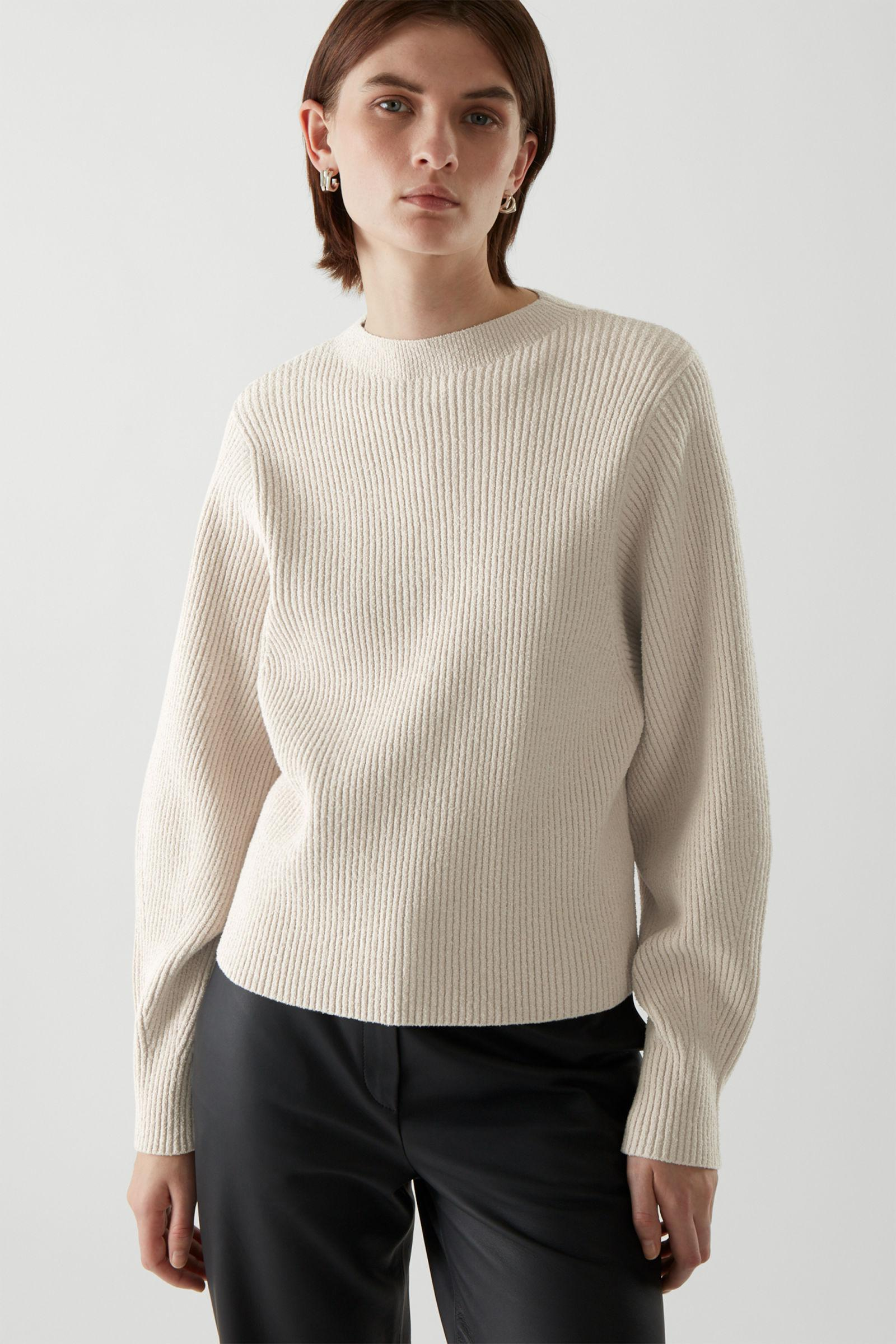 RIBBED KNITTED JUMPER 4