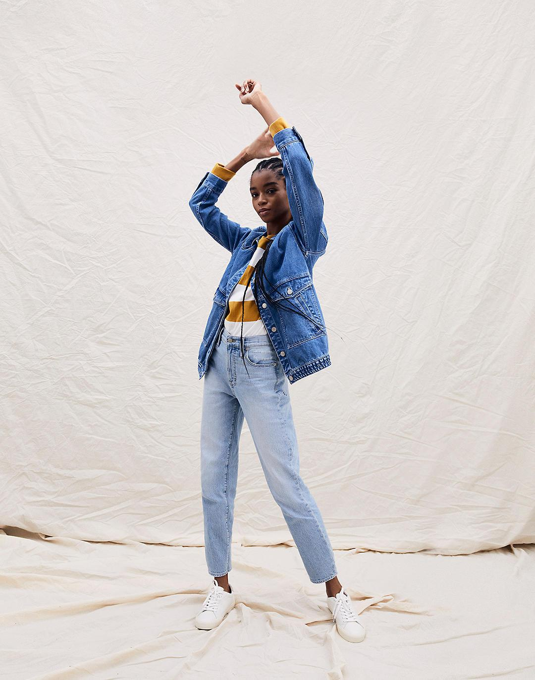 The Perfect Vintage Jean in Fiore Wash 4