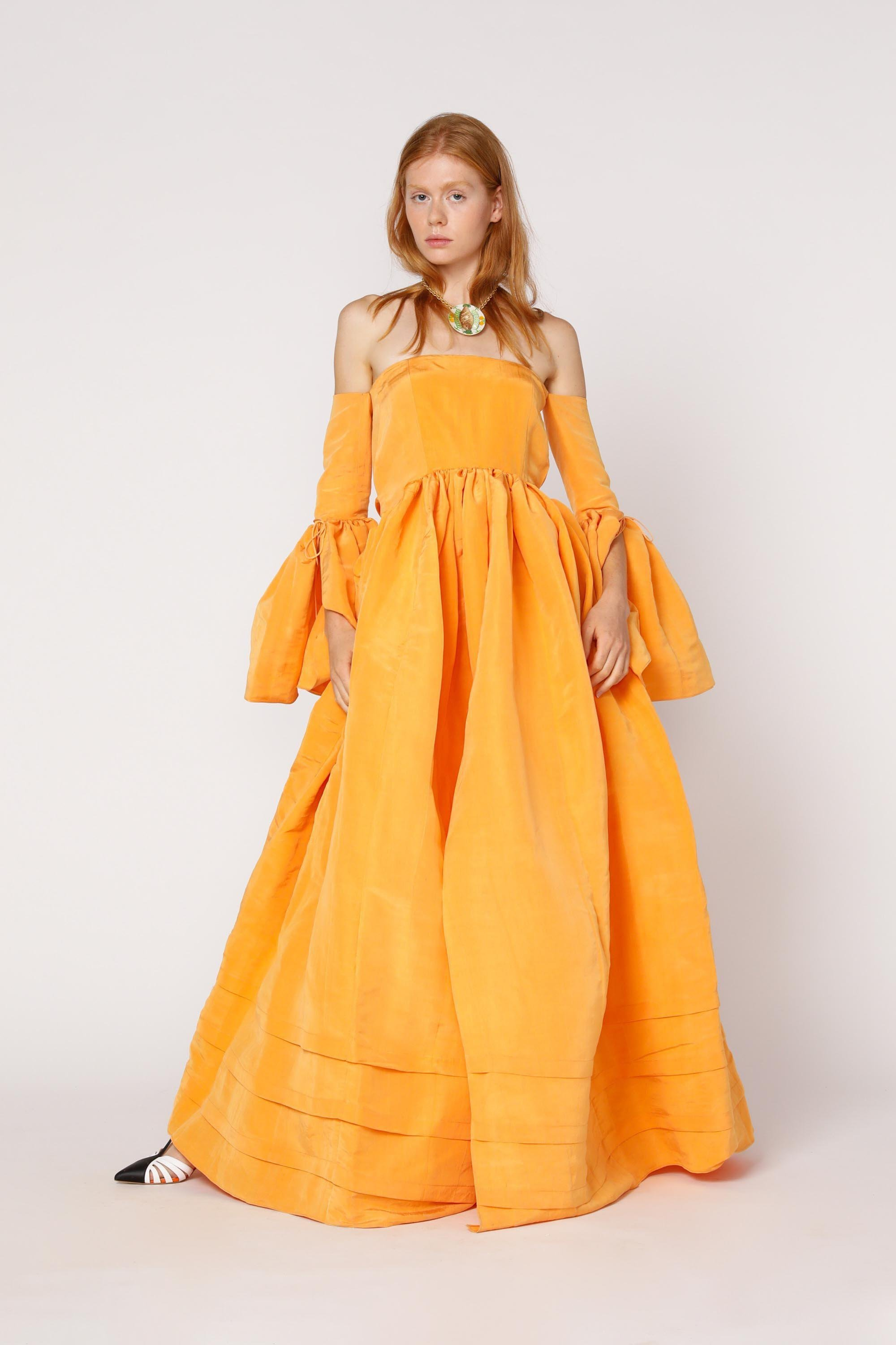 Court Gown w/ Open Front