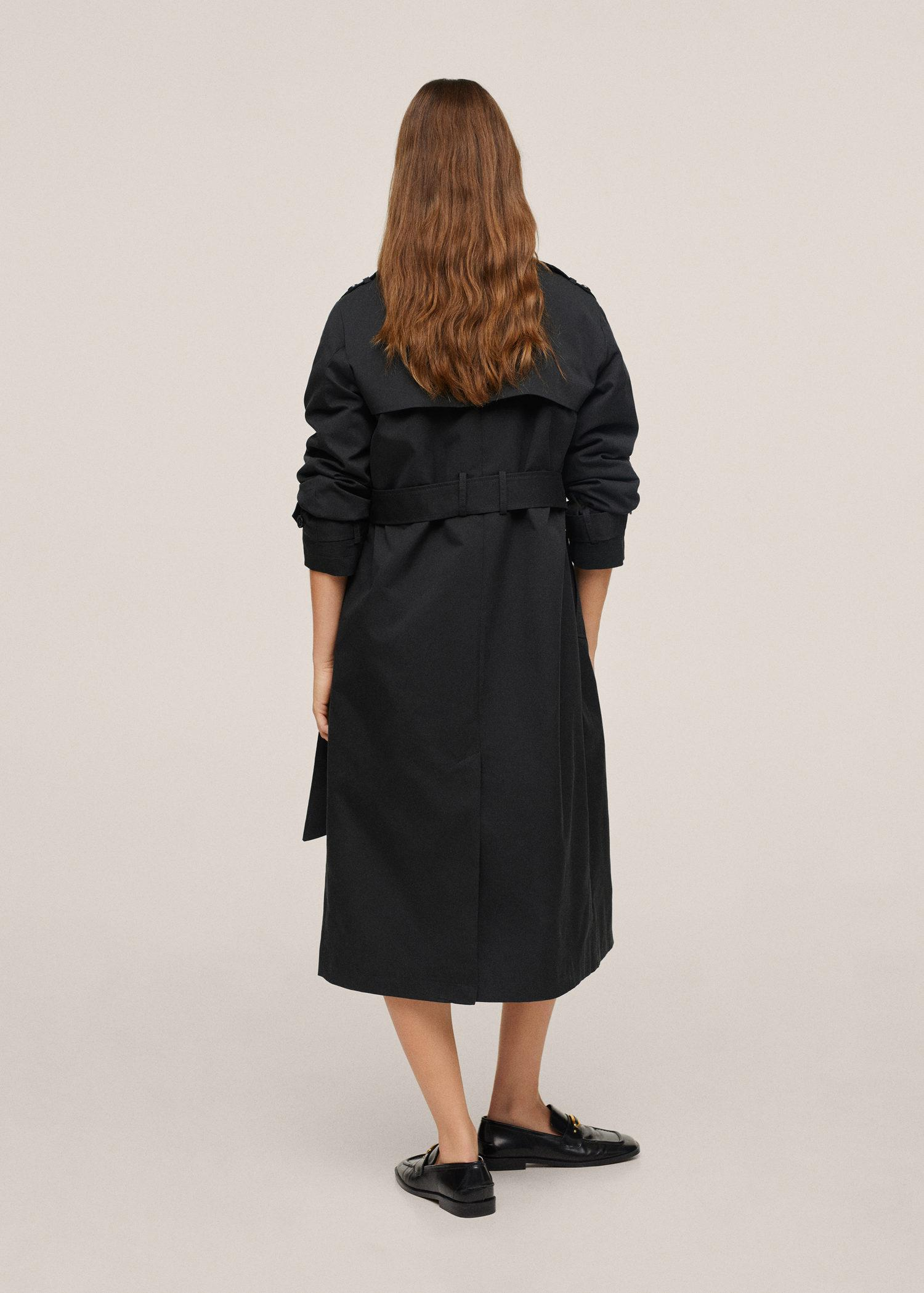 Classic cotton trench coat 2
