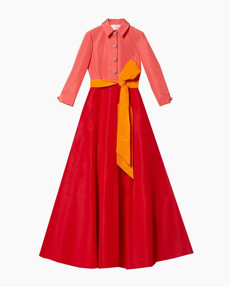 Shirt Gown with Sash 3