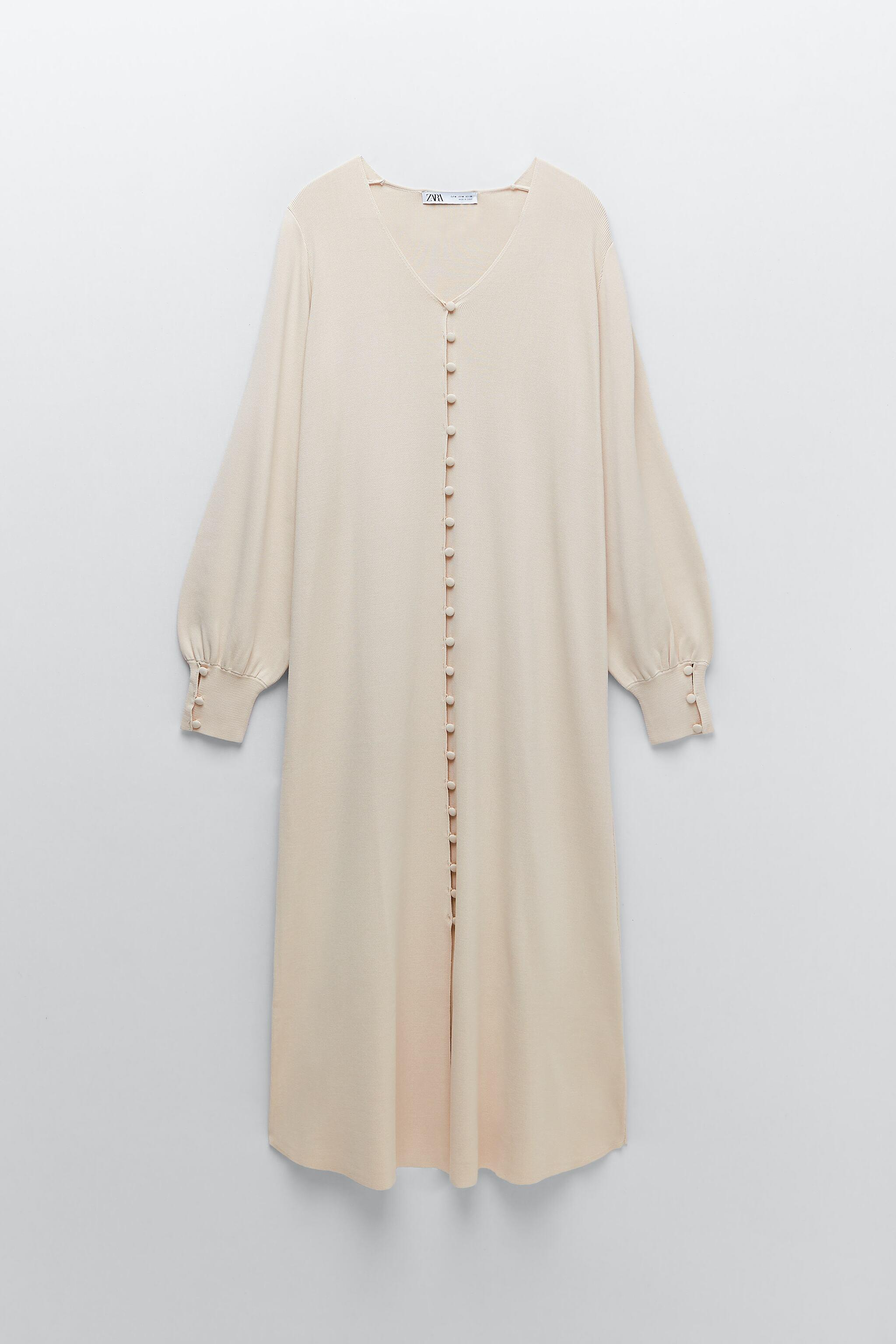 LIMITED EDITION BUTTONED KNIT DRESS 8