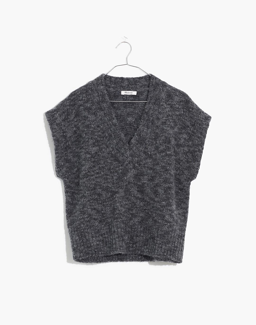 Cropped Sweater Vest