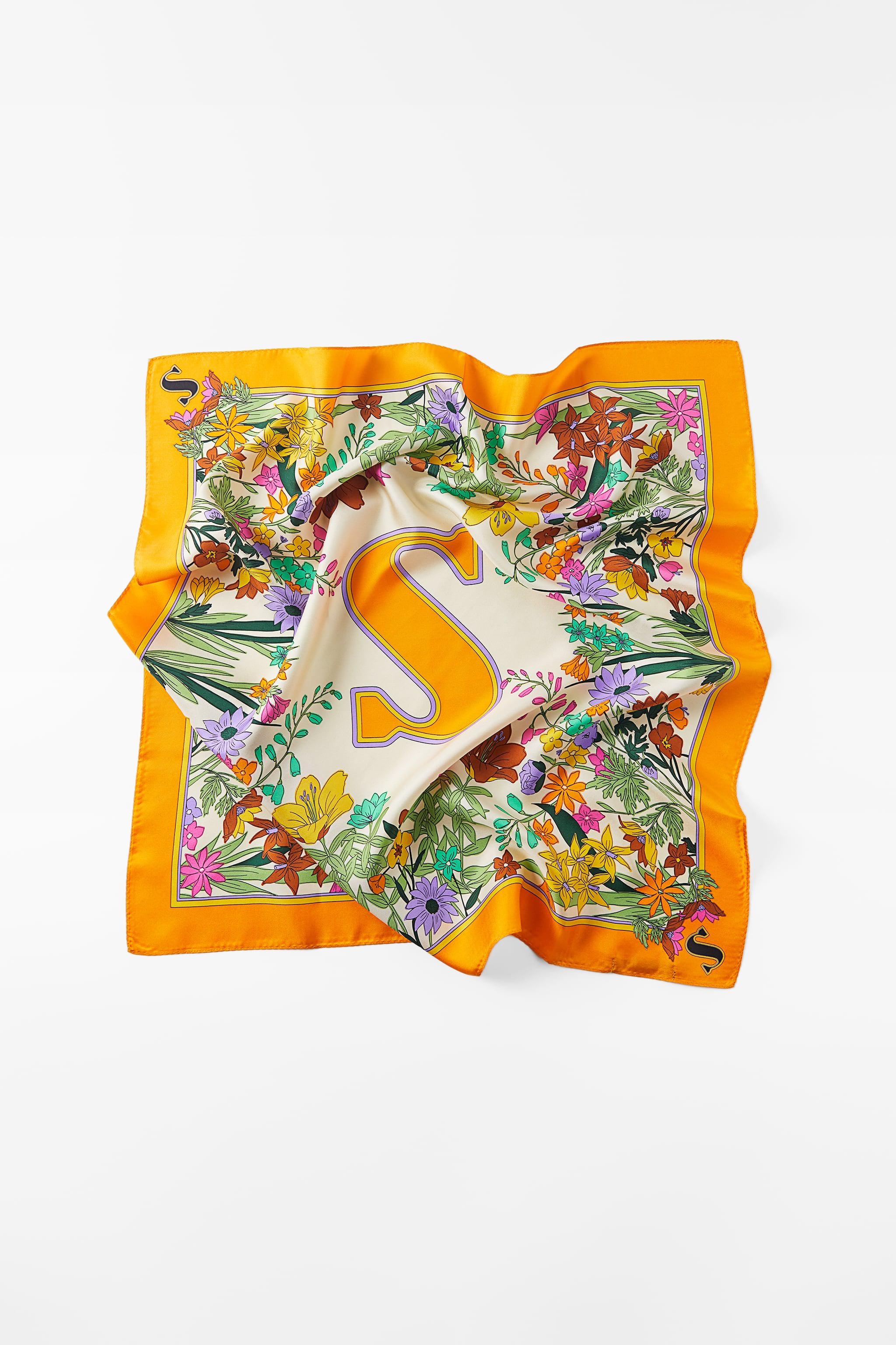 INITIAL SILK SCARF SPECIAL EDITION 2