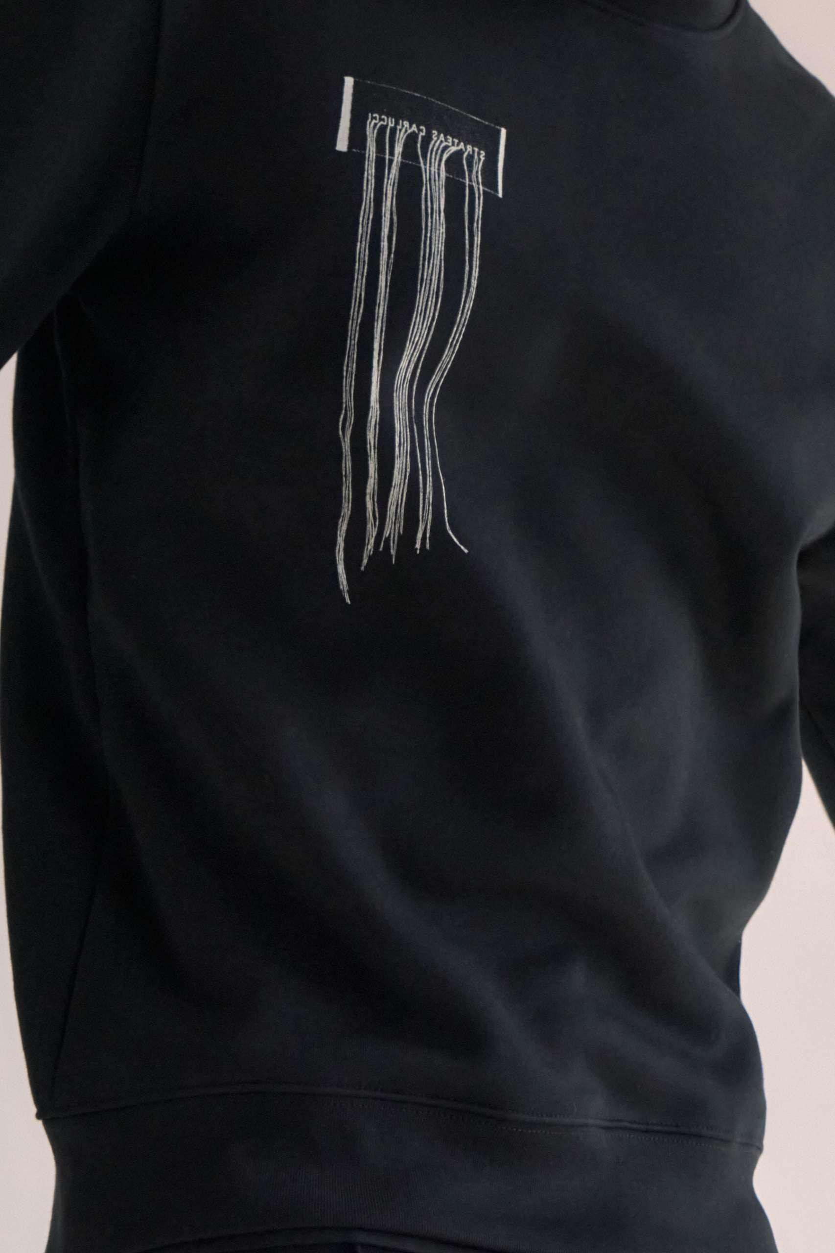 CARBON SWEATER – FRAYED W 4