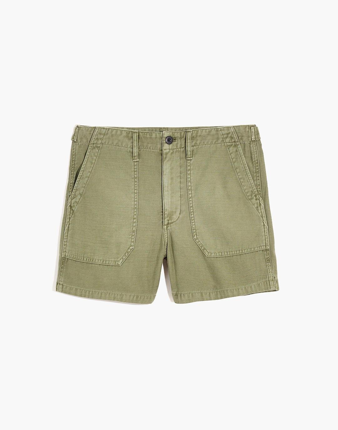 Relaxed Military Shorts 4