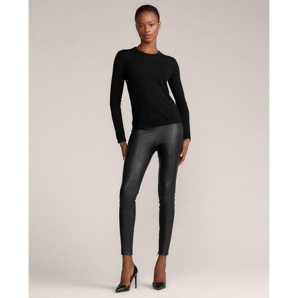 Eleanora Stretch Leather Pant 3