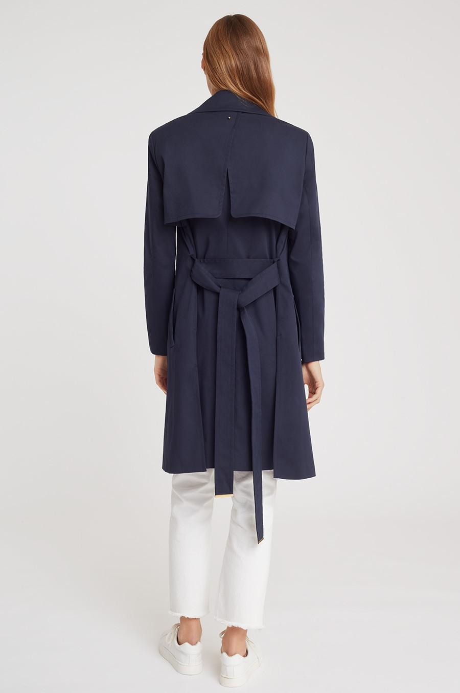 Women's Classic Trench in Navy | Size: 2