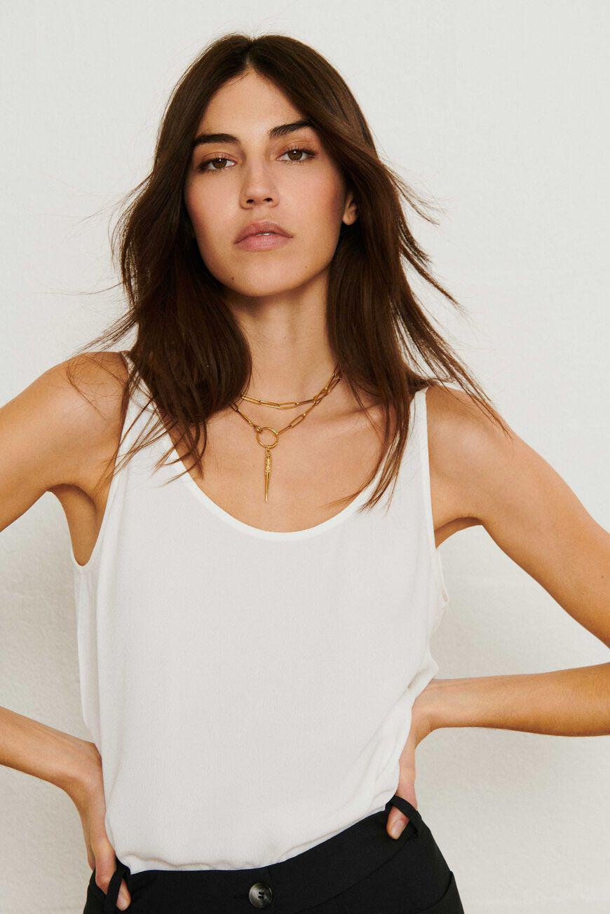 figue.SLEEVELESS TOP
