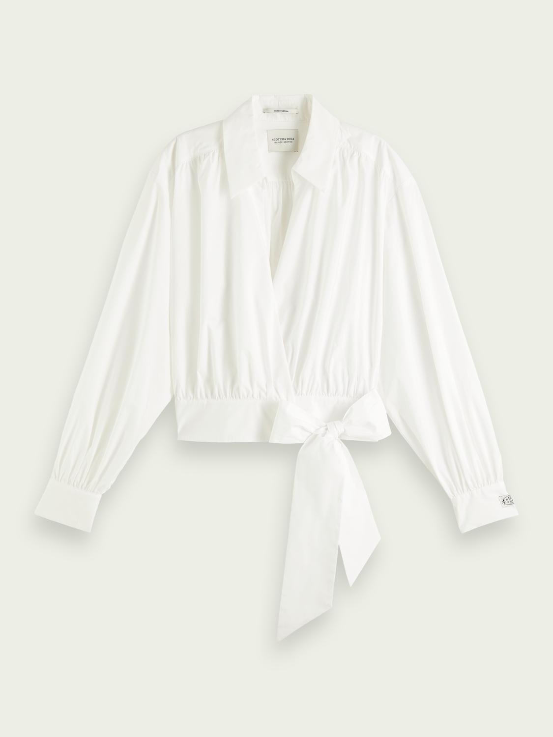 Clean organic cotton wrap over top