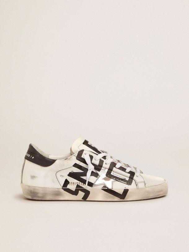 Super-Star sneakers with Sneakers Lover print