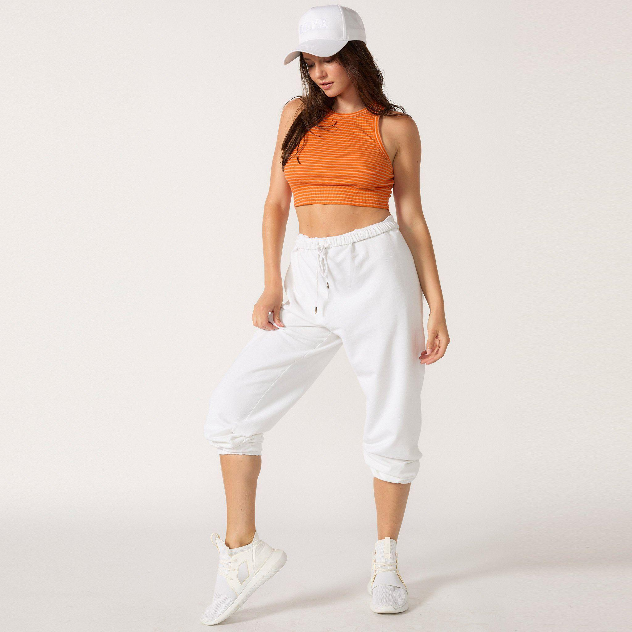 The Live-in Cropped Rib Tank 11
