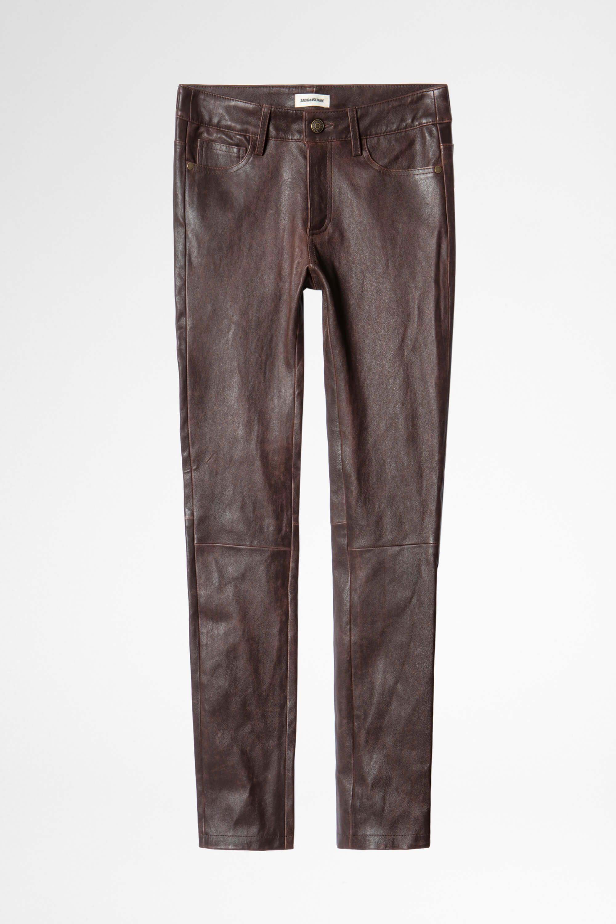 Phlame Leather Used Pants 5