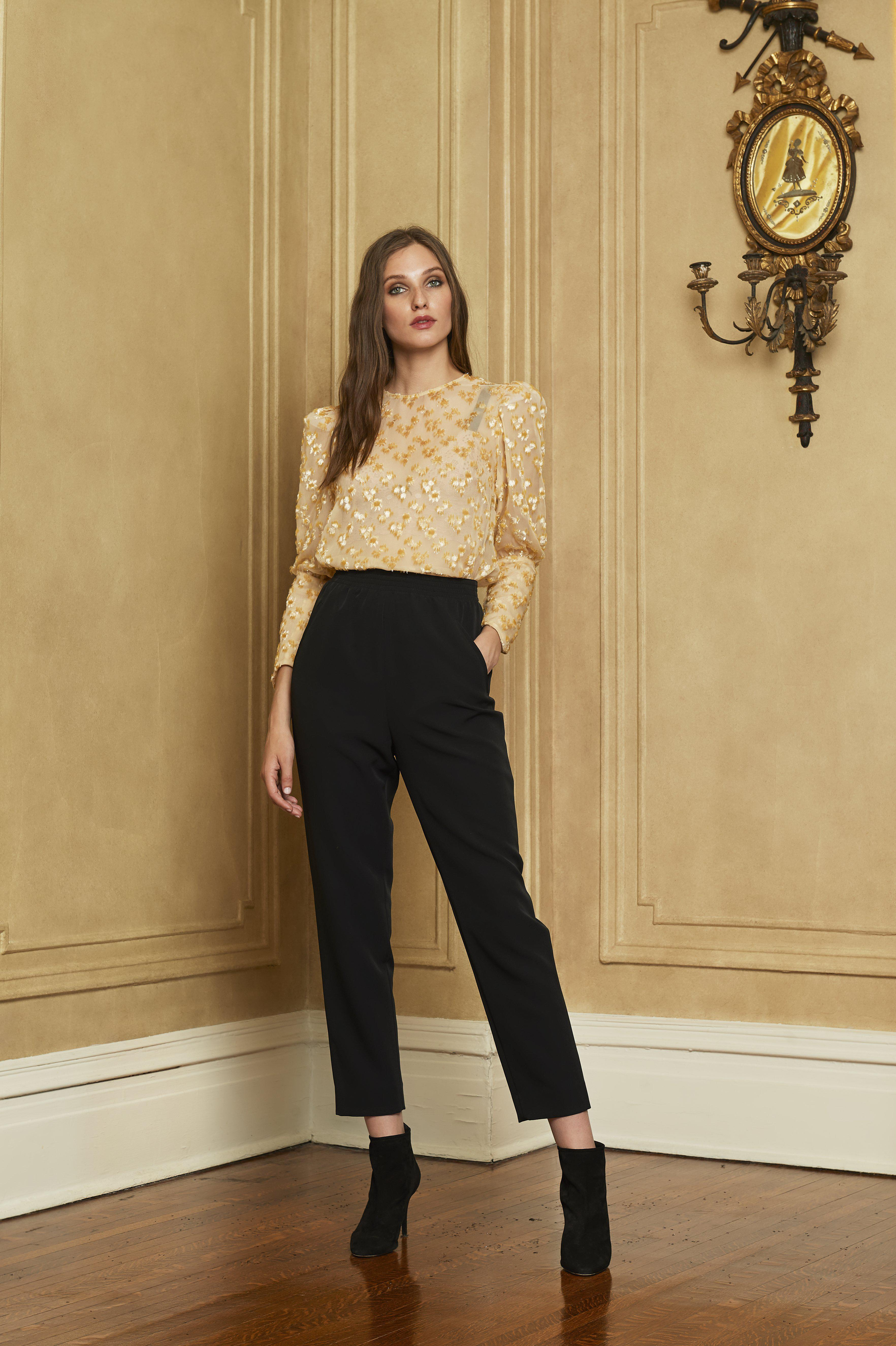 The Georgie Blouse | Gold Rose