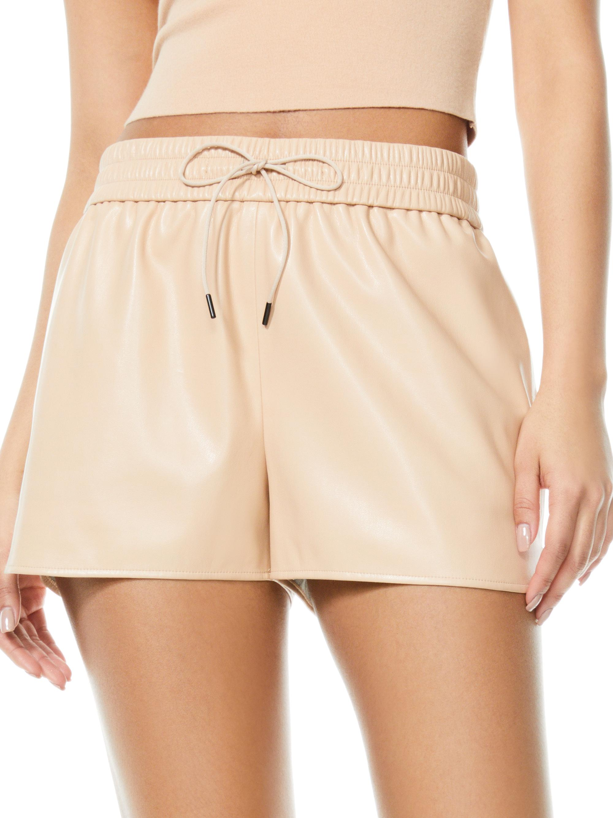 LUDLOW VEGAN LEATHER SHORT