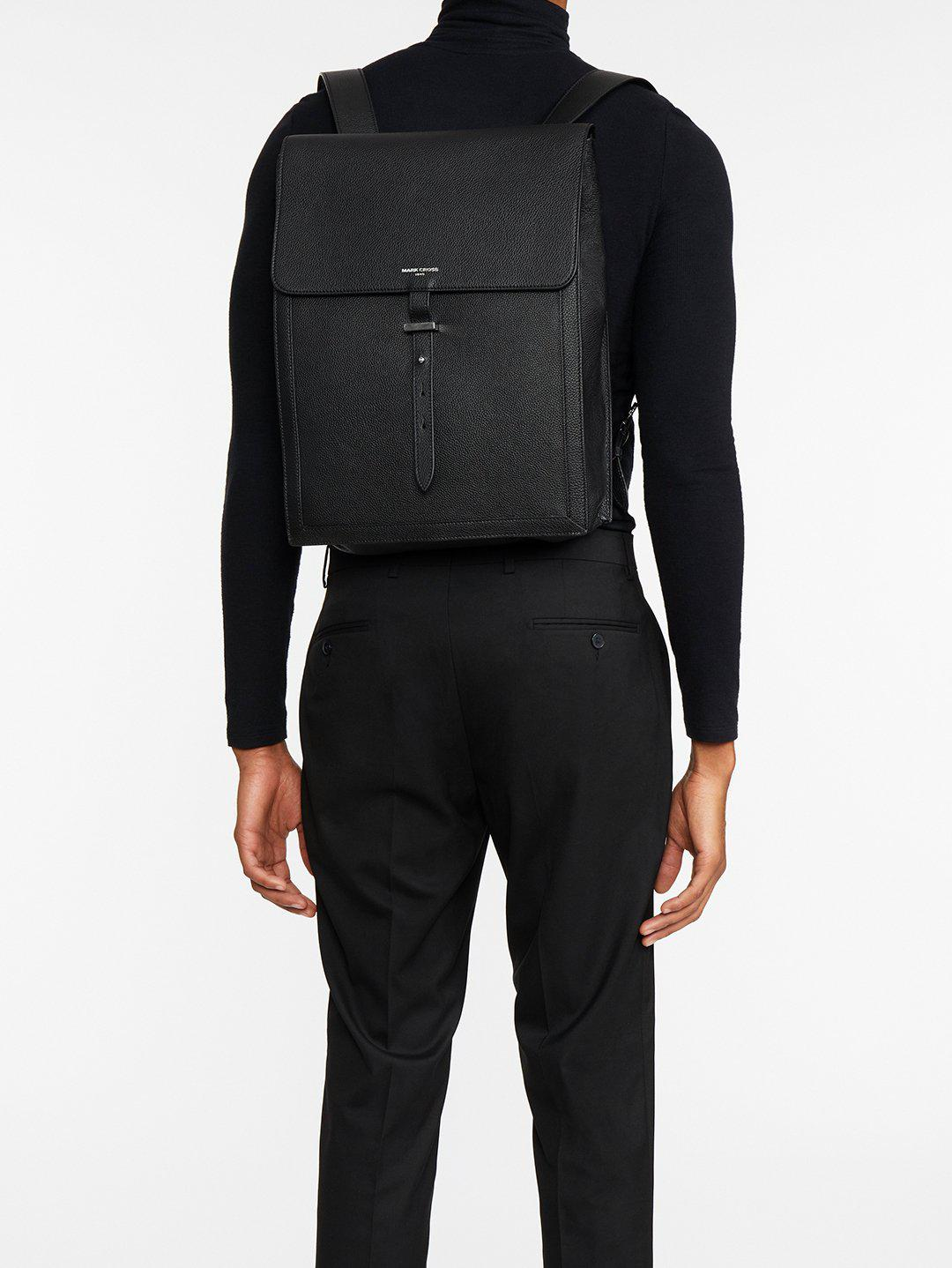 Andy Leather Backpack 7
