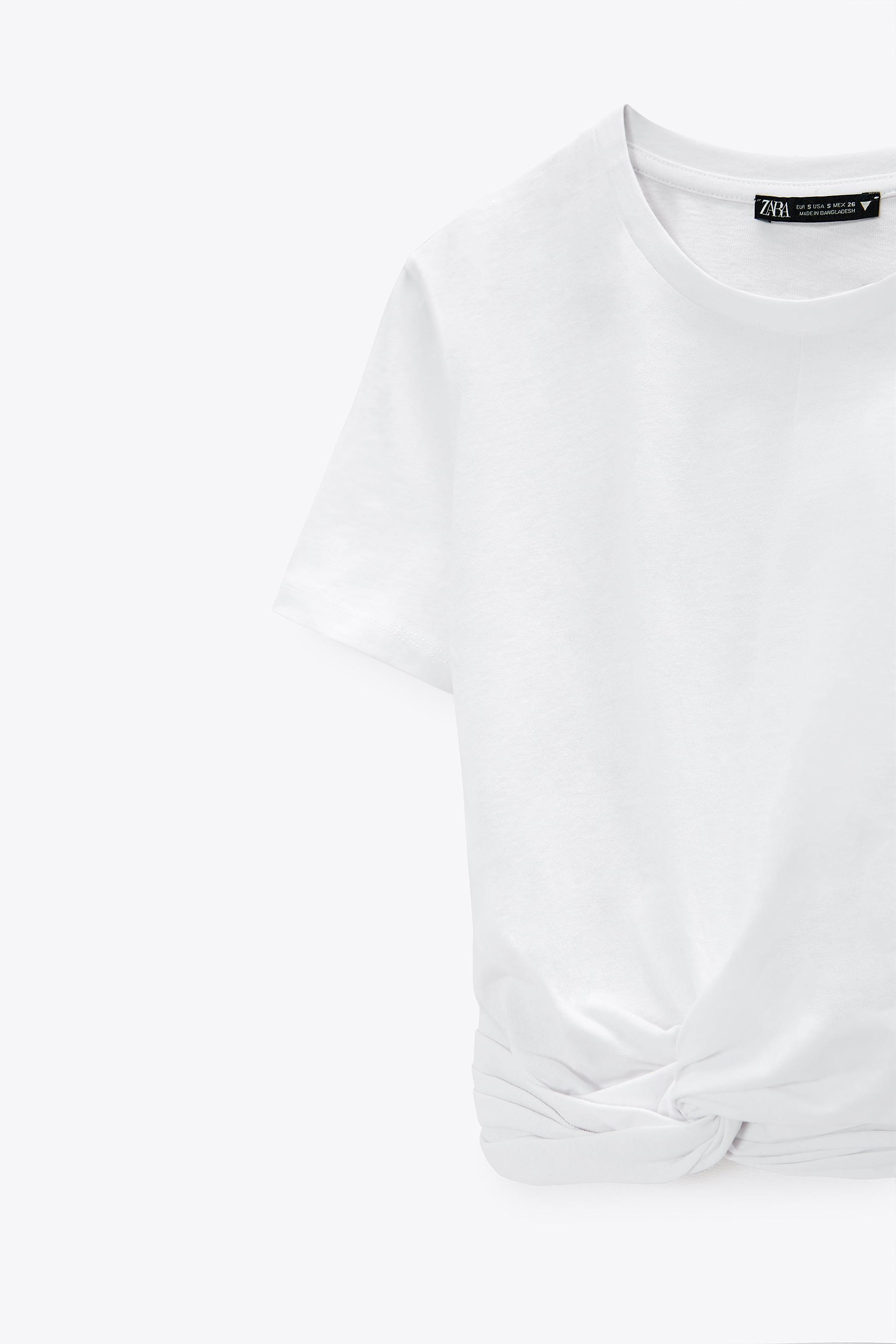 KNOTTED T-SHIRT 3