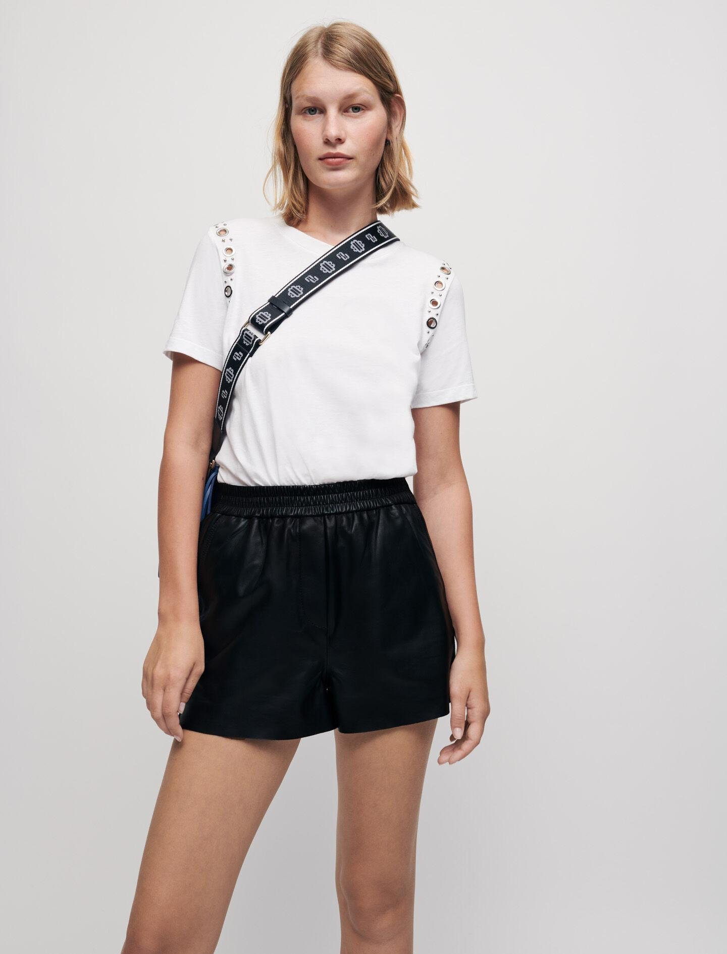 WHITE T-SHIRT WITH ROCK EYELETS 2