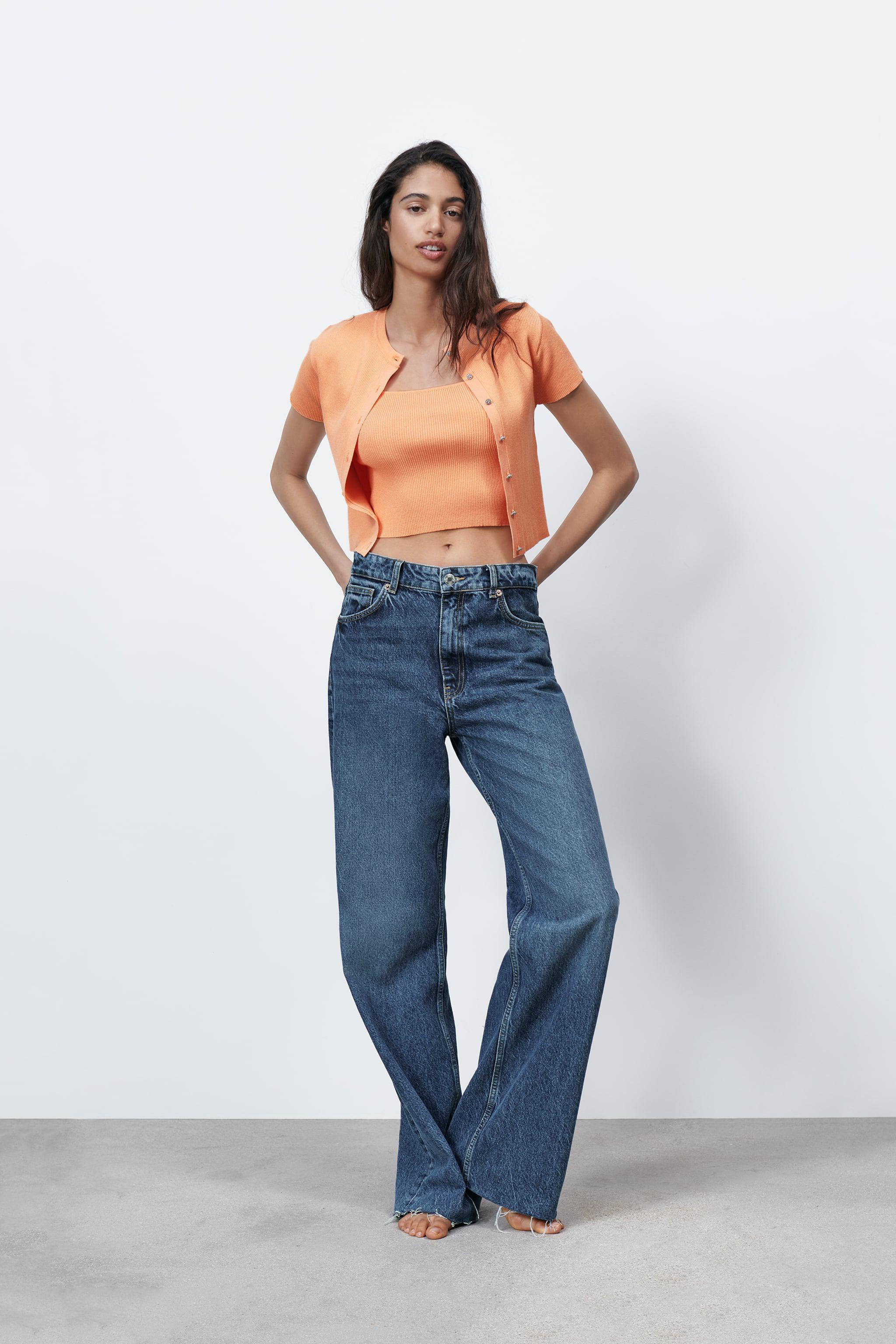 CROPPED KNIT TOP 0