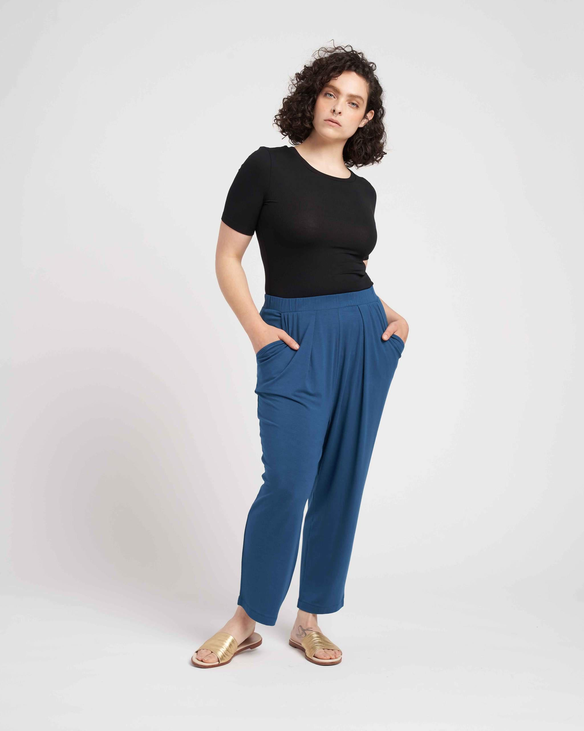 Lucy Relaxed Jersey Pants