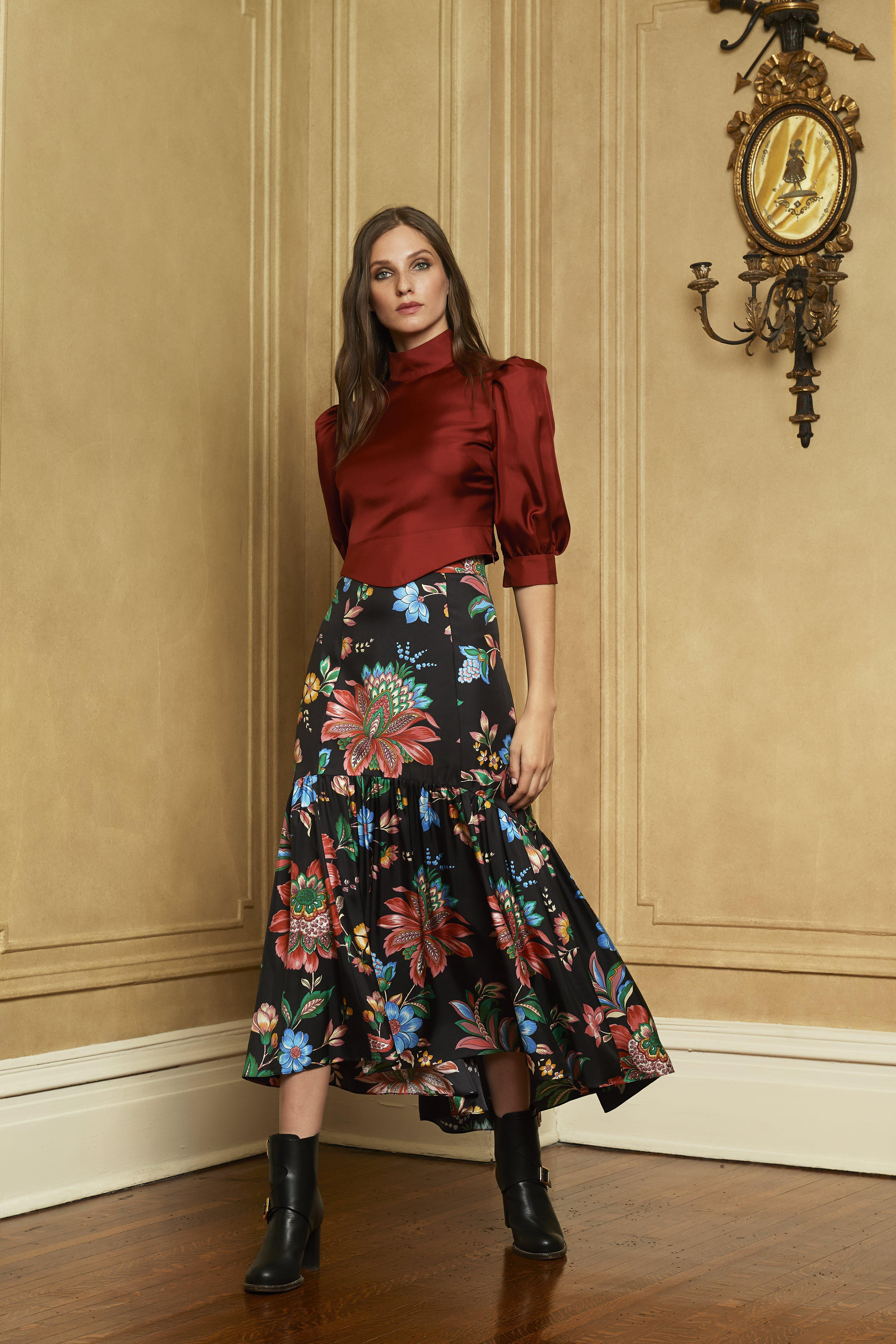 The Rosie Skirt | Library Floral