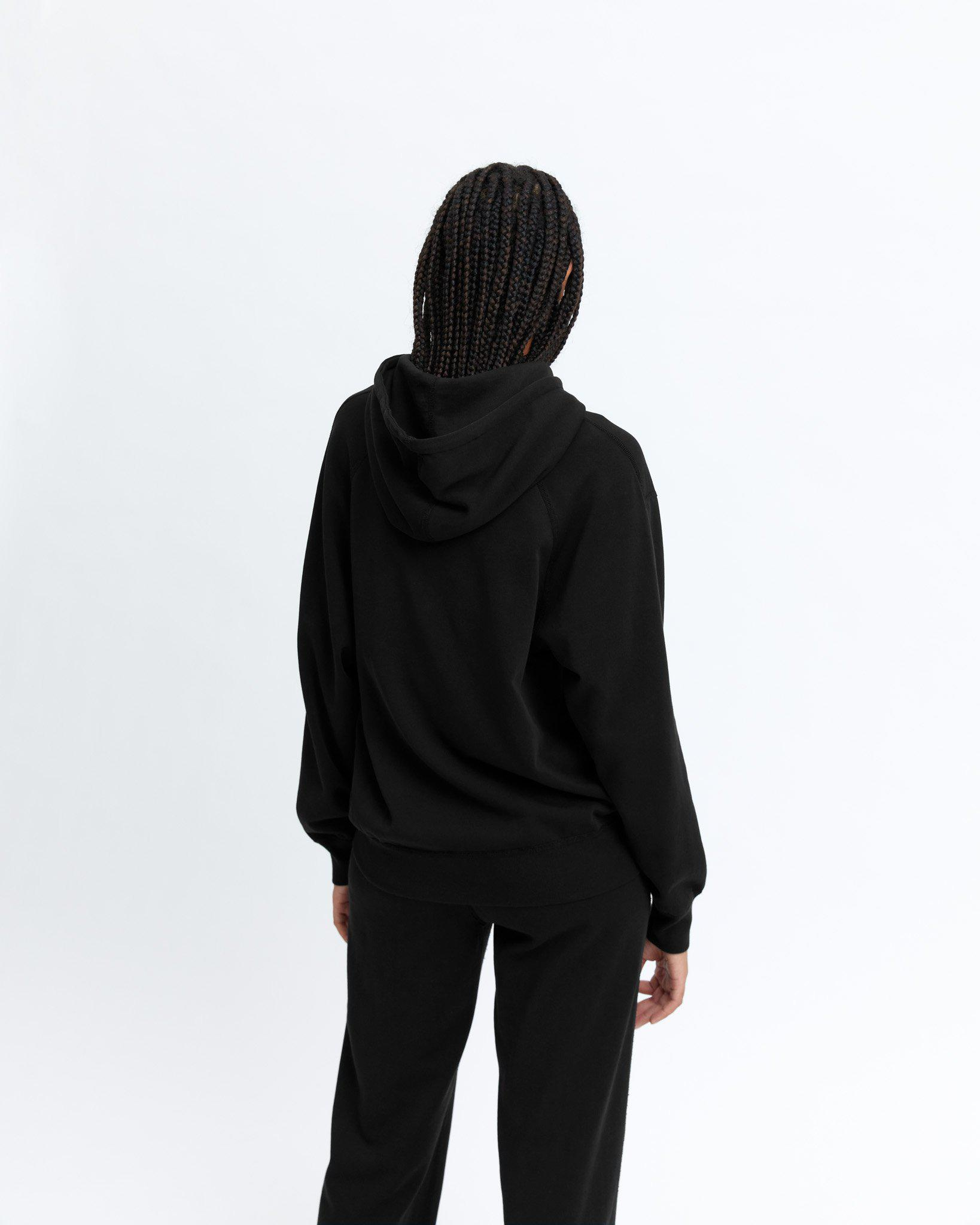 Lightweight Terry Relaxed Hoodie 4