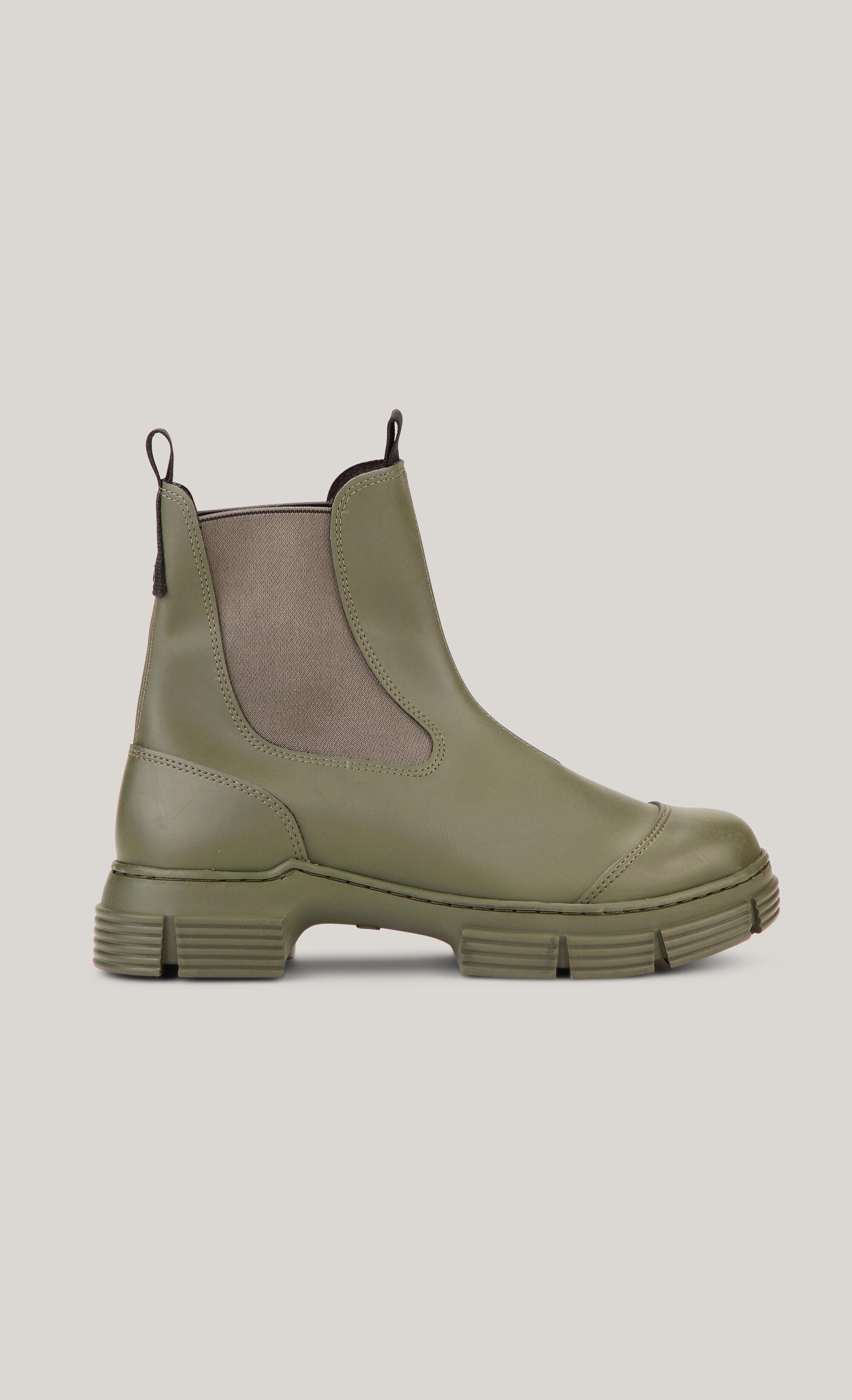 Recycled Rubber City Boot