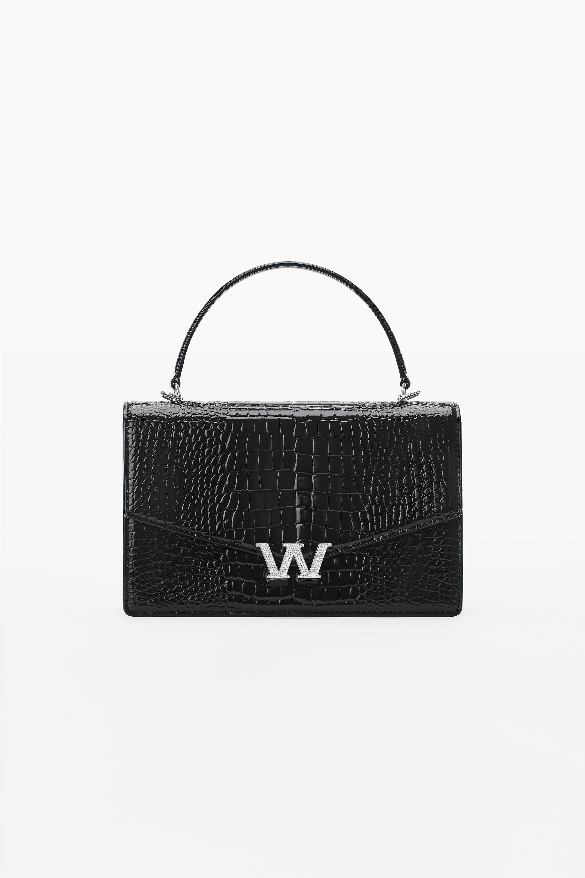 w legacy small satchel in leather