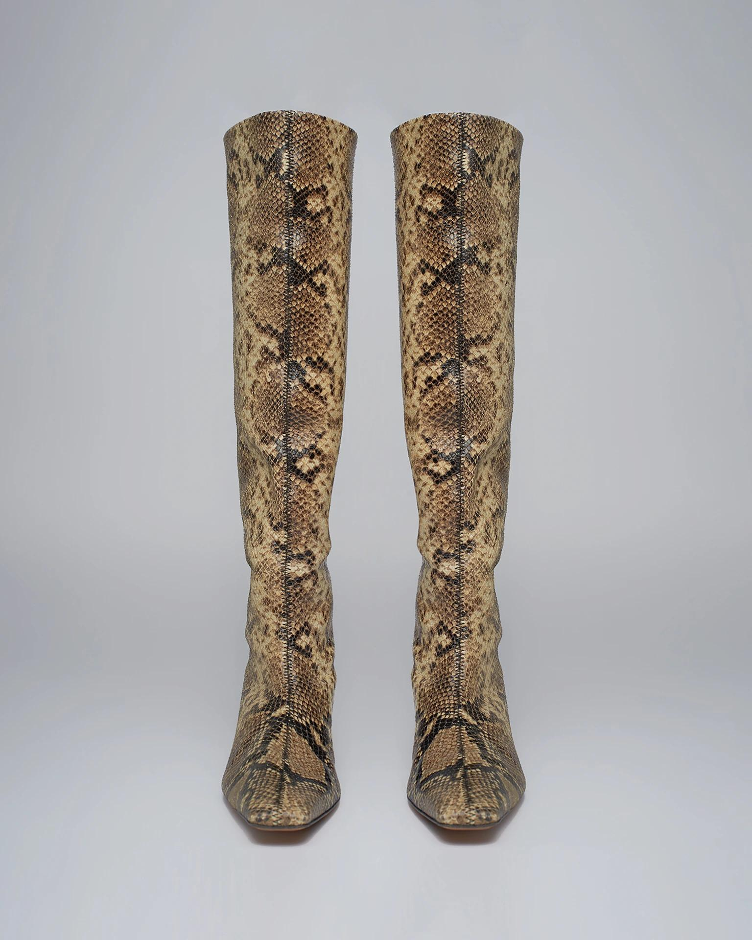 PIPPA - Knee boots - Snake
