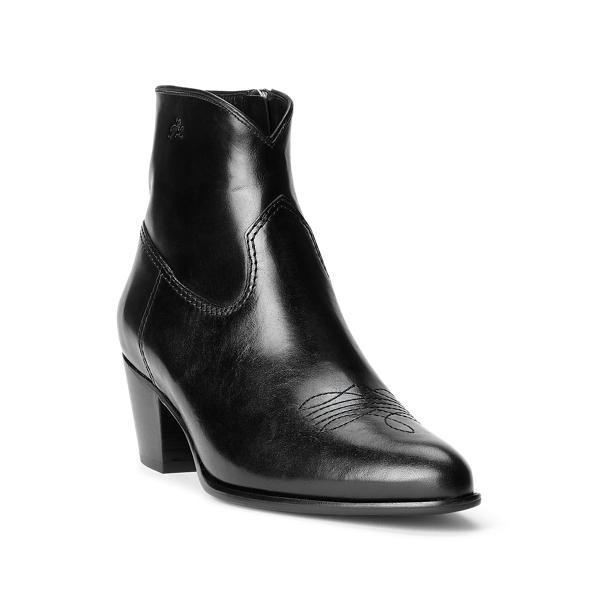 Lucille Leather Boot 1