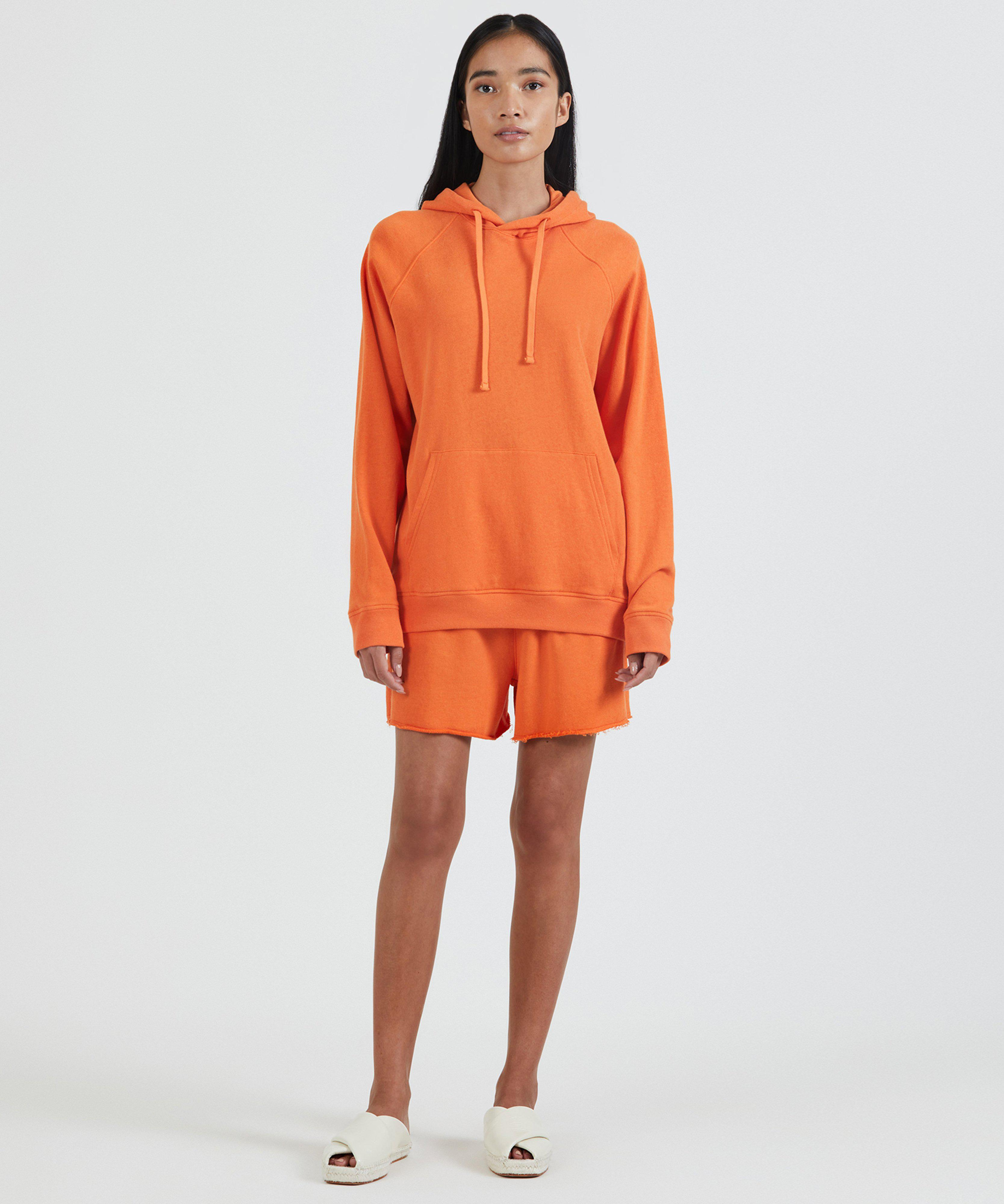 French Terry Pull-On Short - Clementine 4