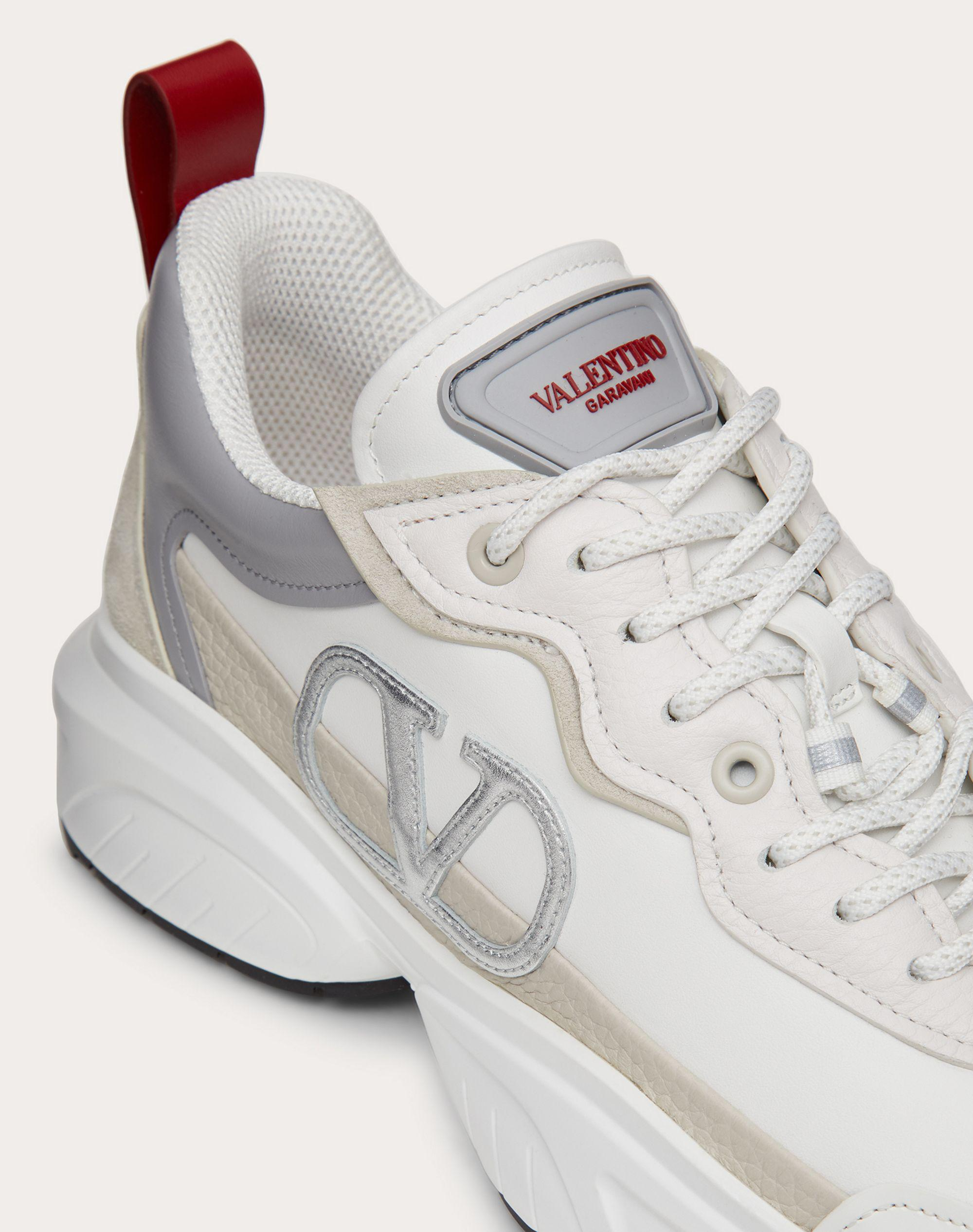 SHEGOES Sneaker in split leather and calfskin leather 4