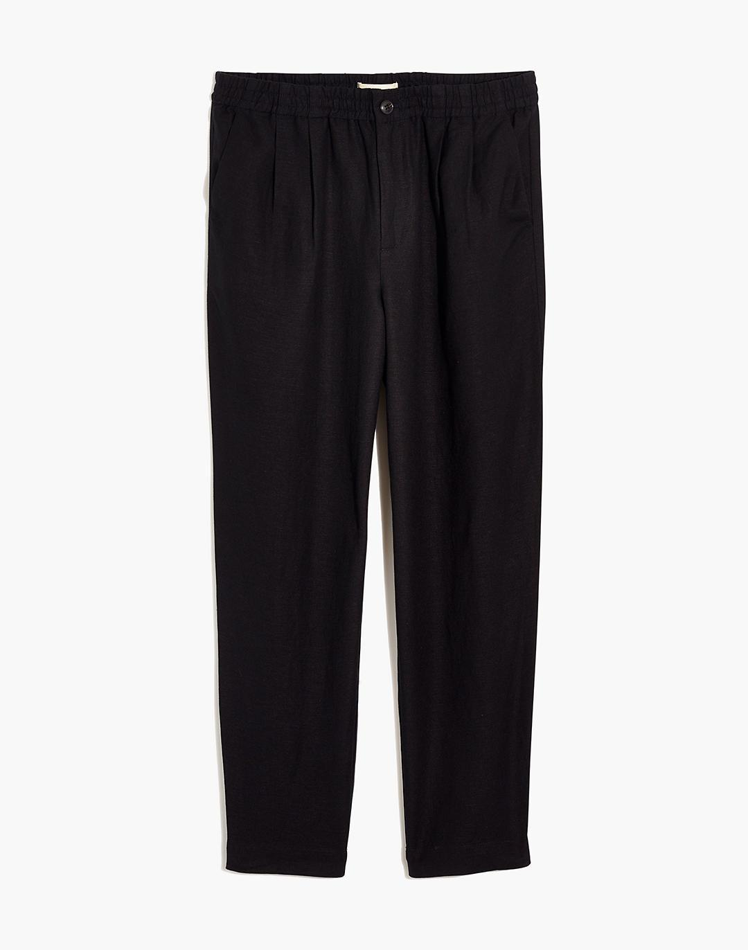 Linen-Blend Track Trousers 3