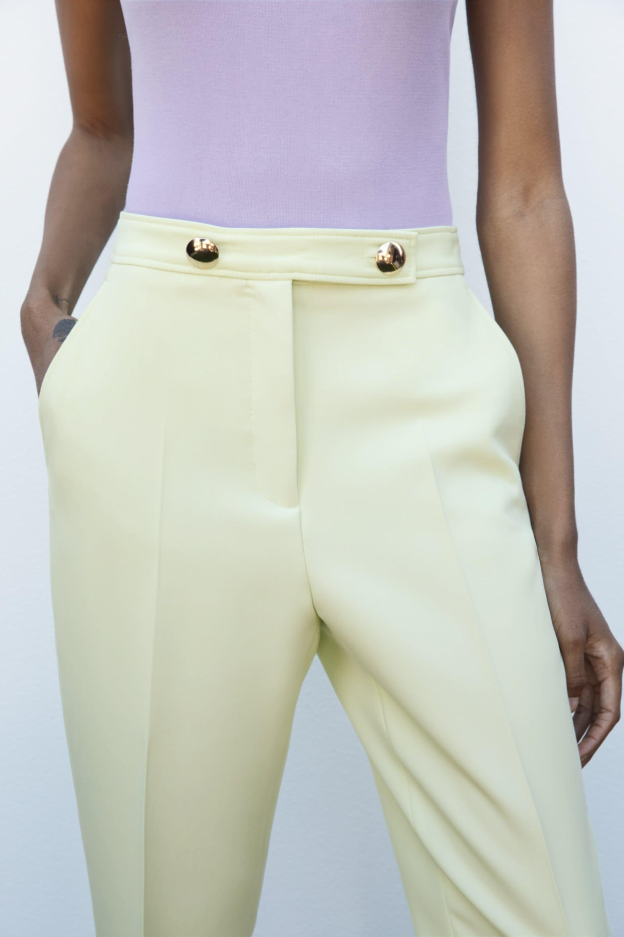 BUTTONED PANTS WITH BELT 2