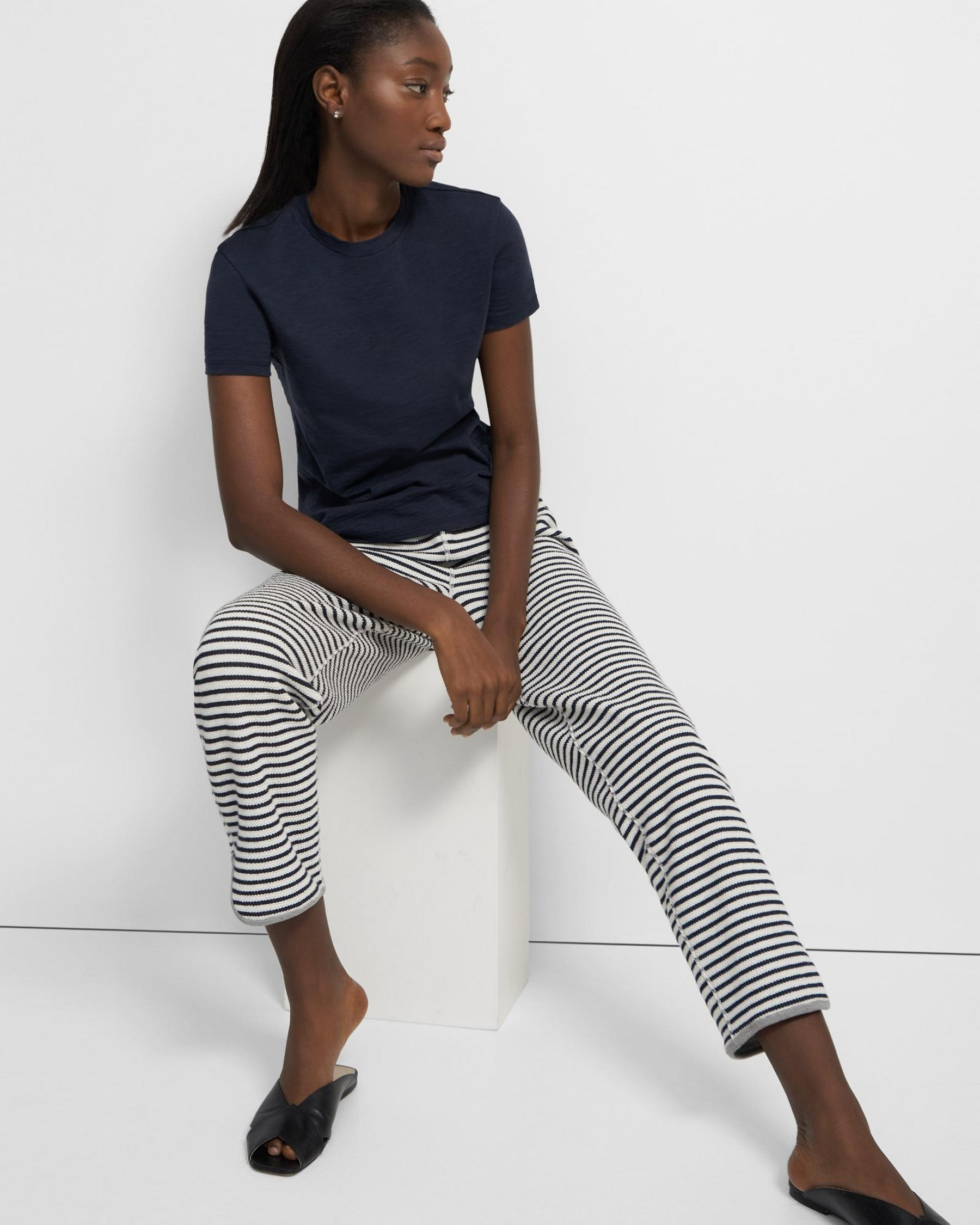 Reversible Notch Jogger in Terry Cotton 0