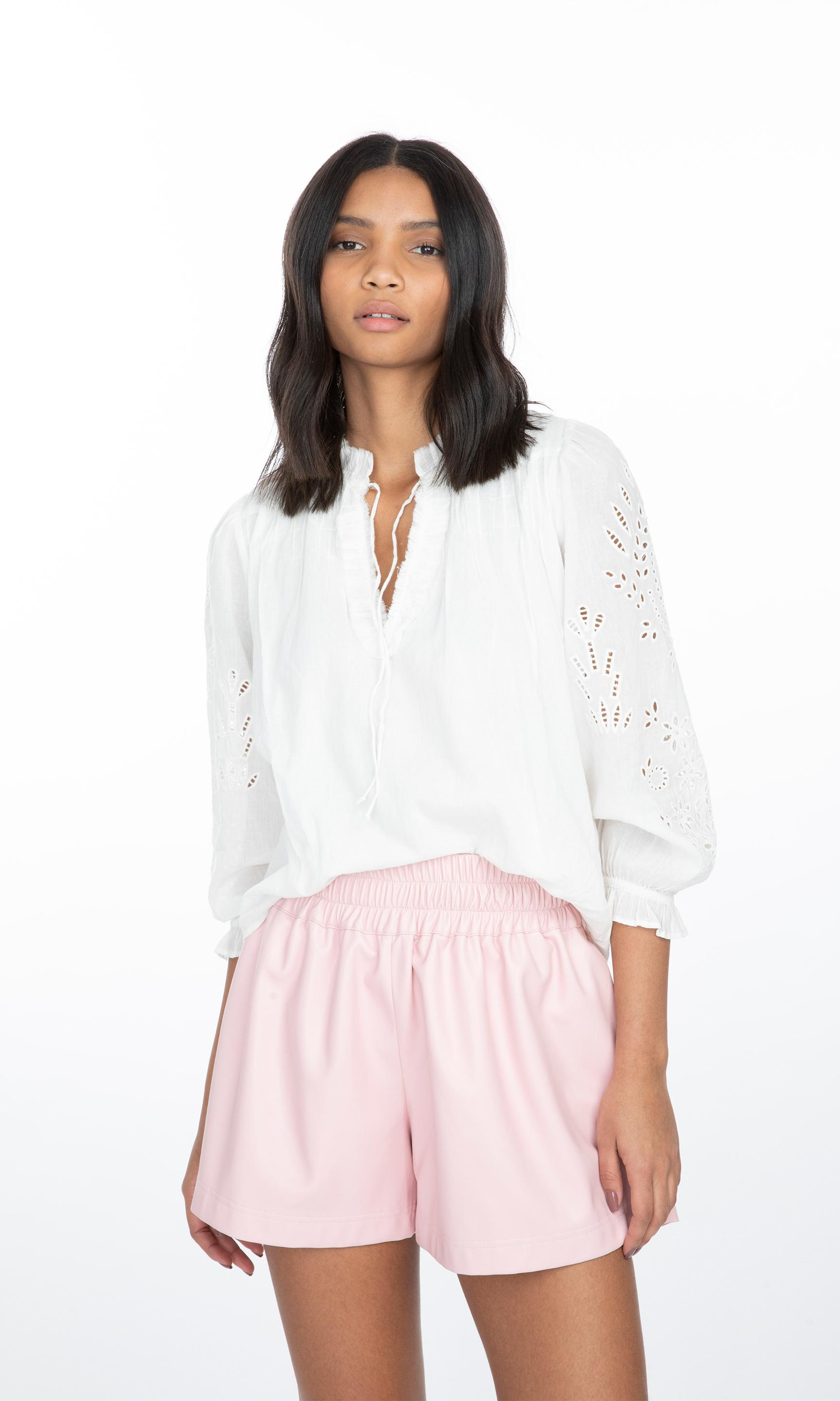 Camila Embroidered Blouse