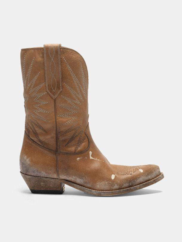 Low Wish Star boots with honey-coloured vegetable tanning