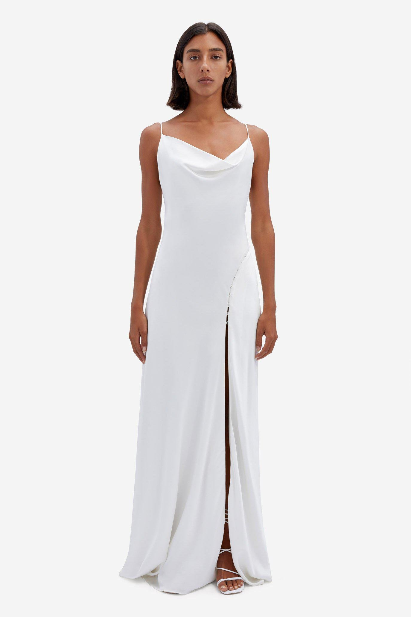 Exclusive Finley Satin Gown 3