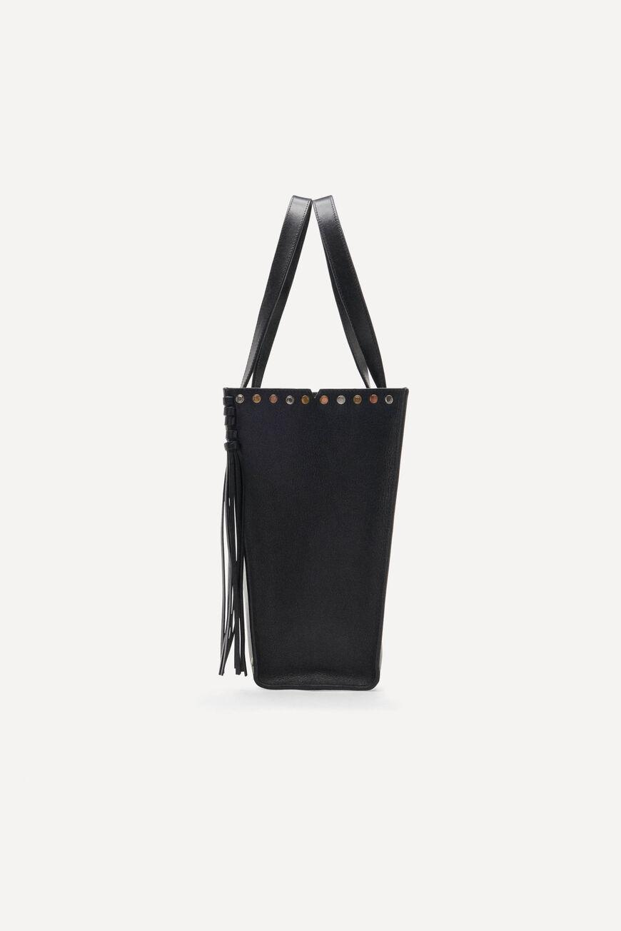 cabas.LEATHER TOTEBAG 1