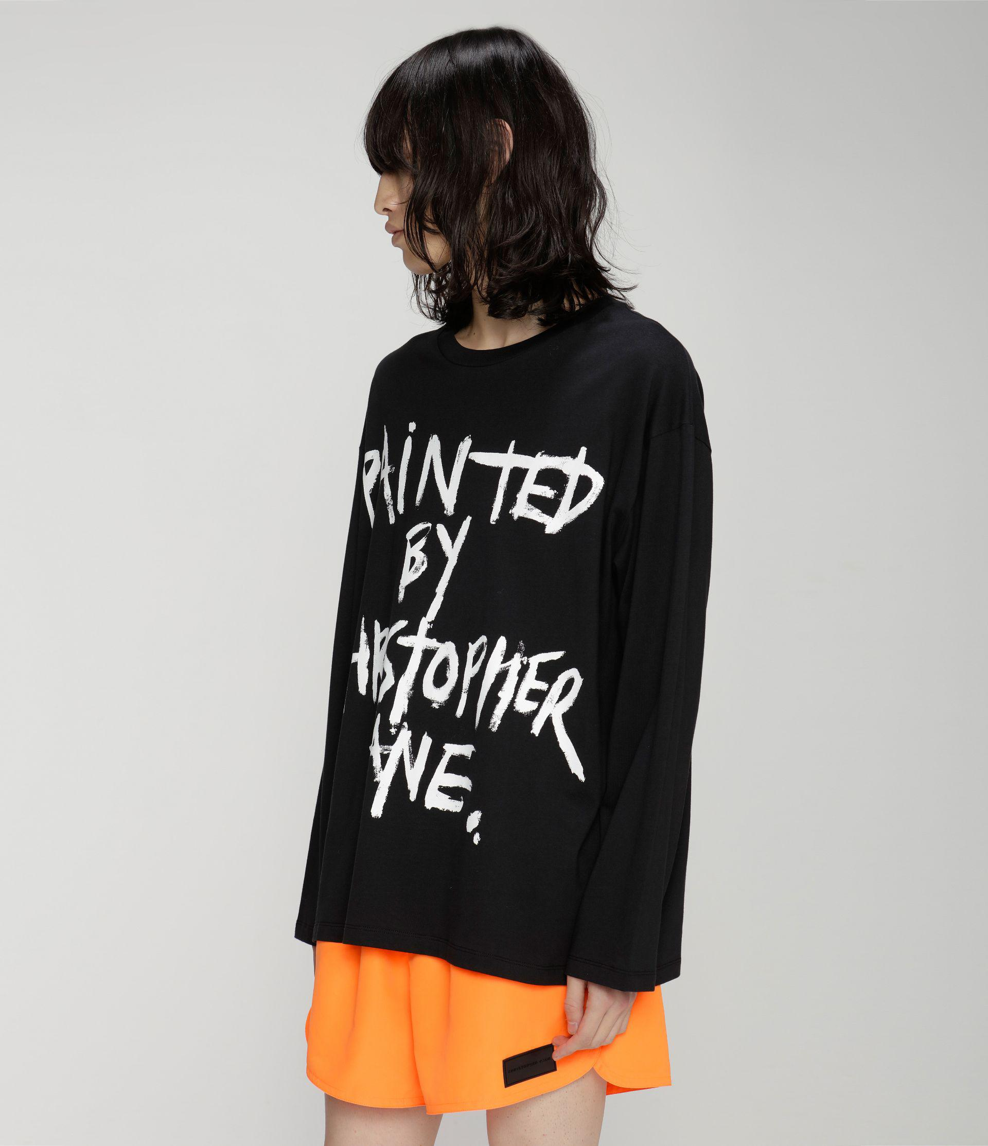 Painted by Christopher Kane long sleeve t-shirt 2