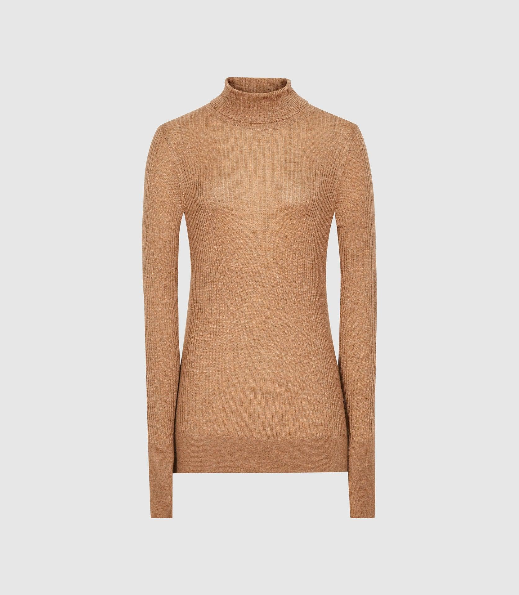 SOPHIE - KNITTED ROLL NECK TOP 3
