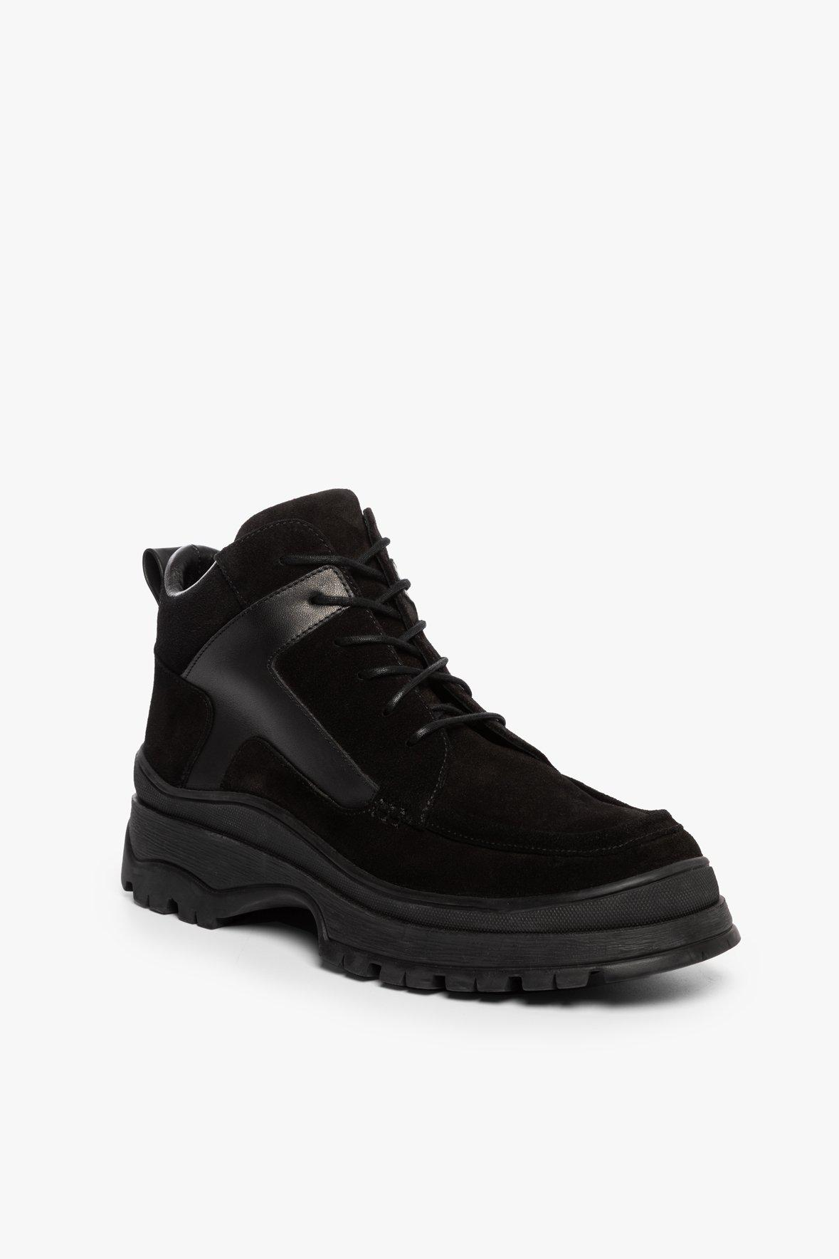 ROCKY BOOT | BLACK SUEDE