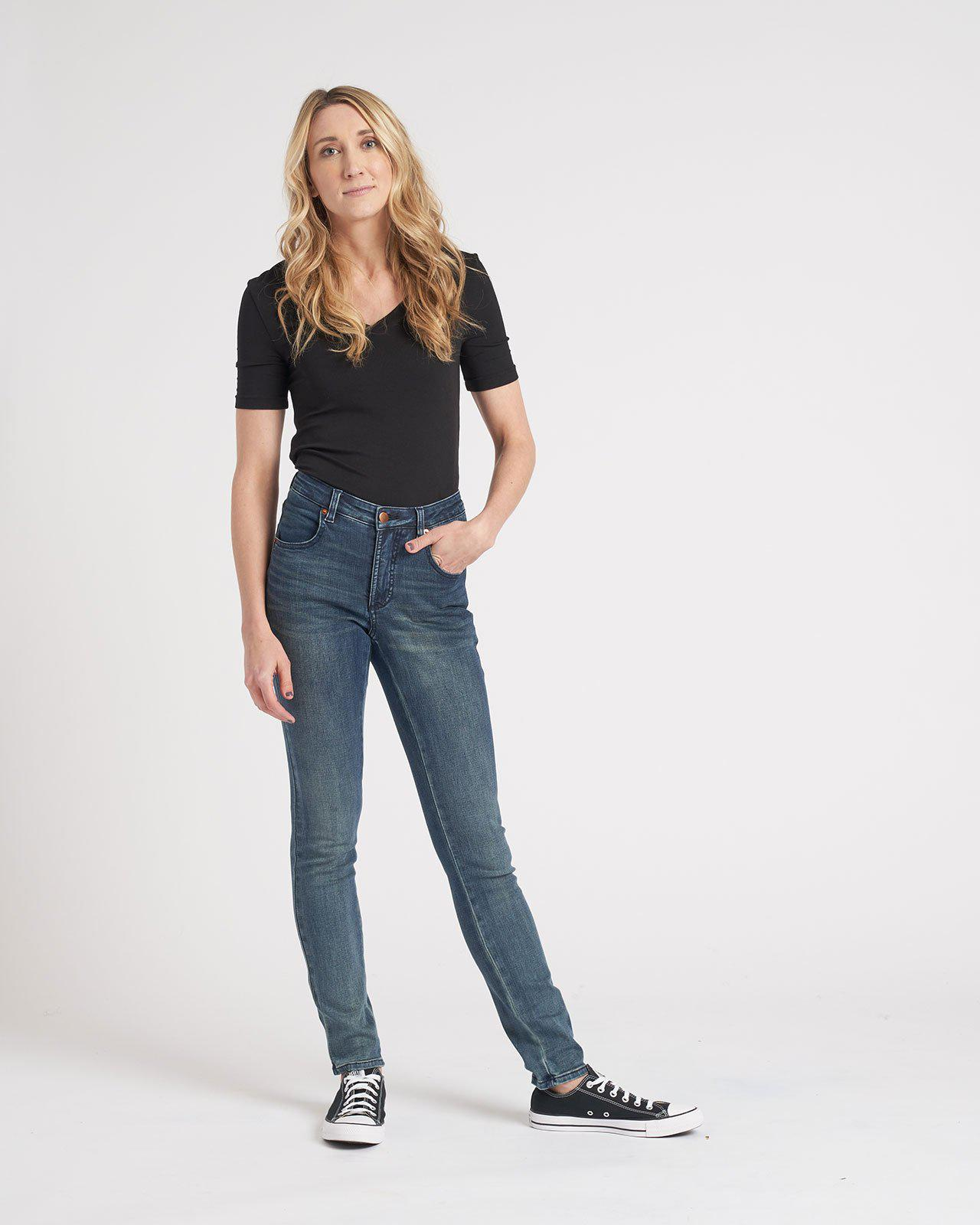 Seine Mid Rise Skinny Jeans 32 Inch