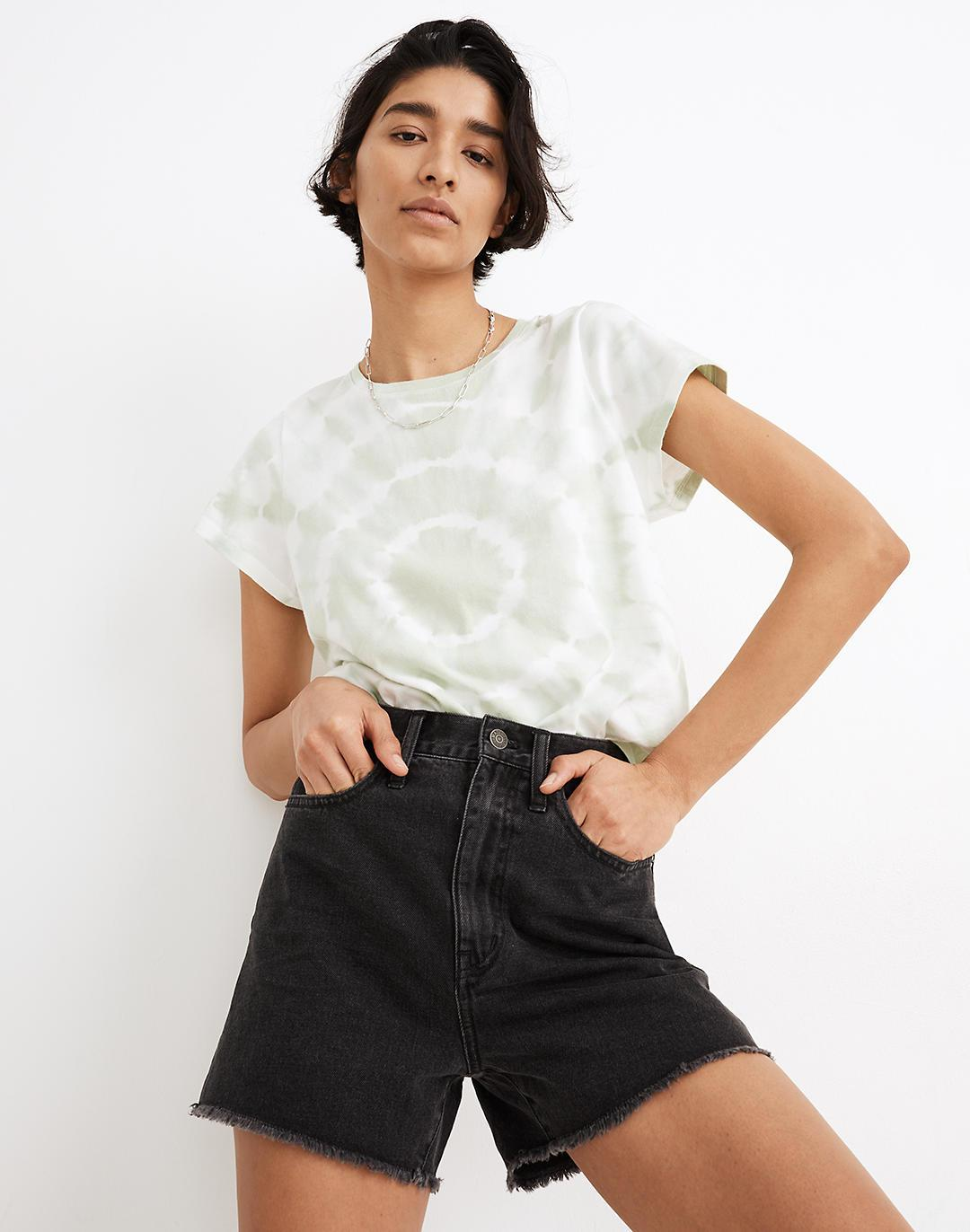 The Momjean Short in Ainslie Wash