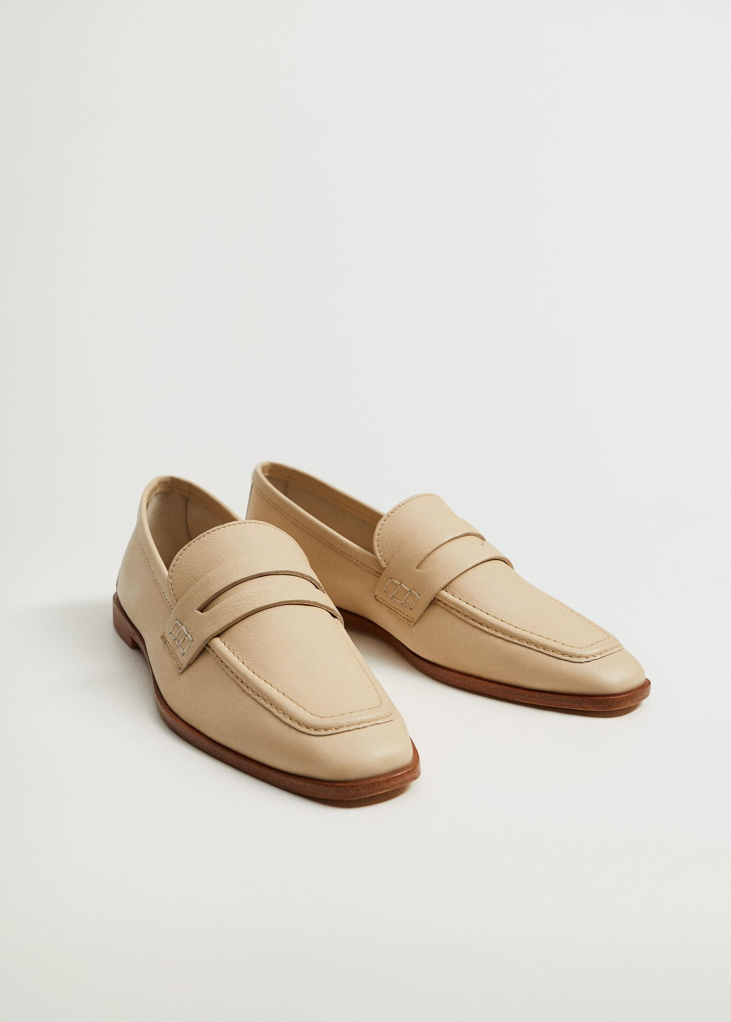 Leather penny loafers 2