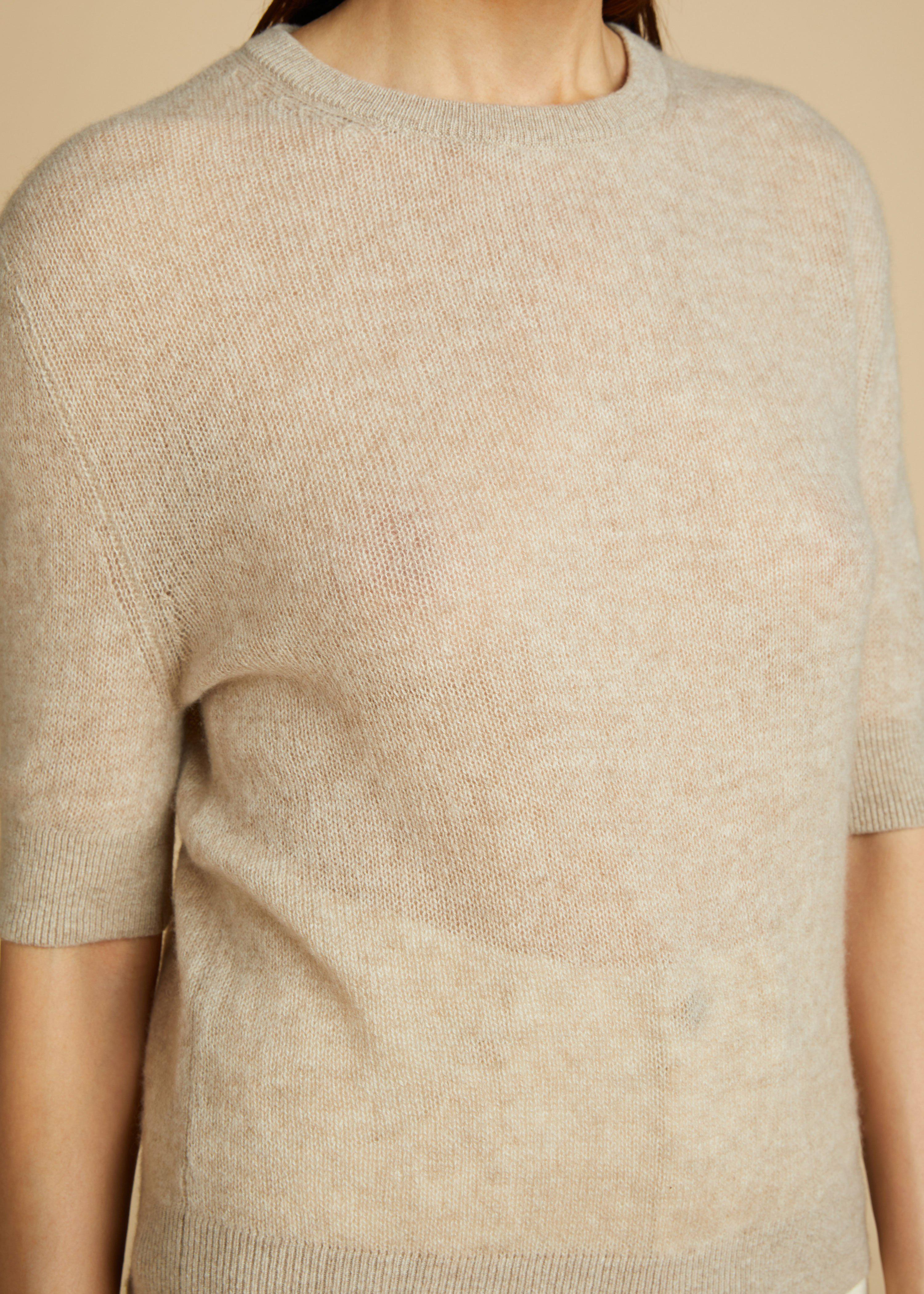 The Dianna Sweater in Powder 4